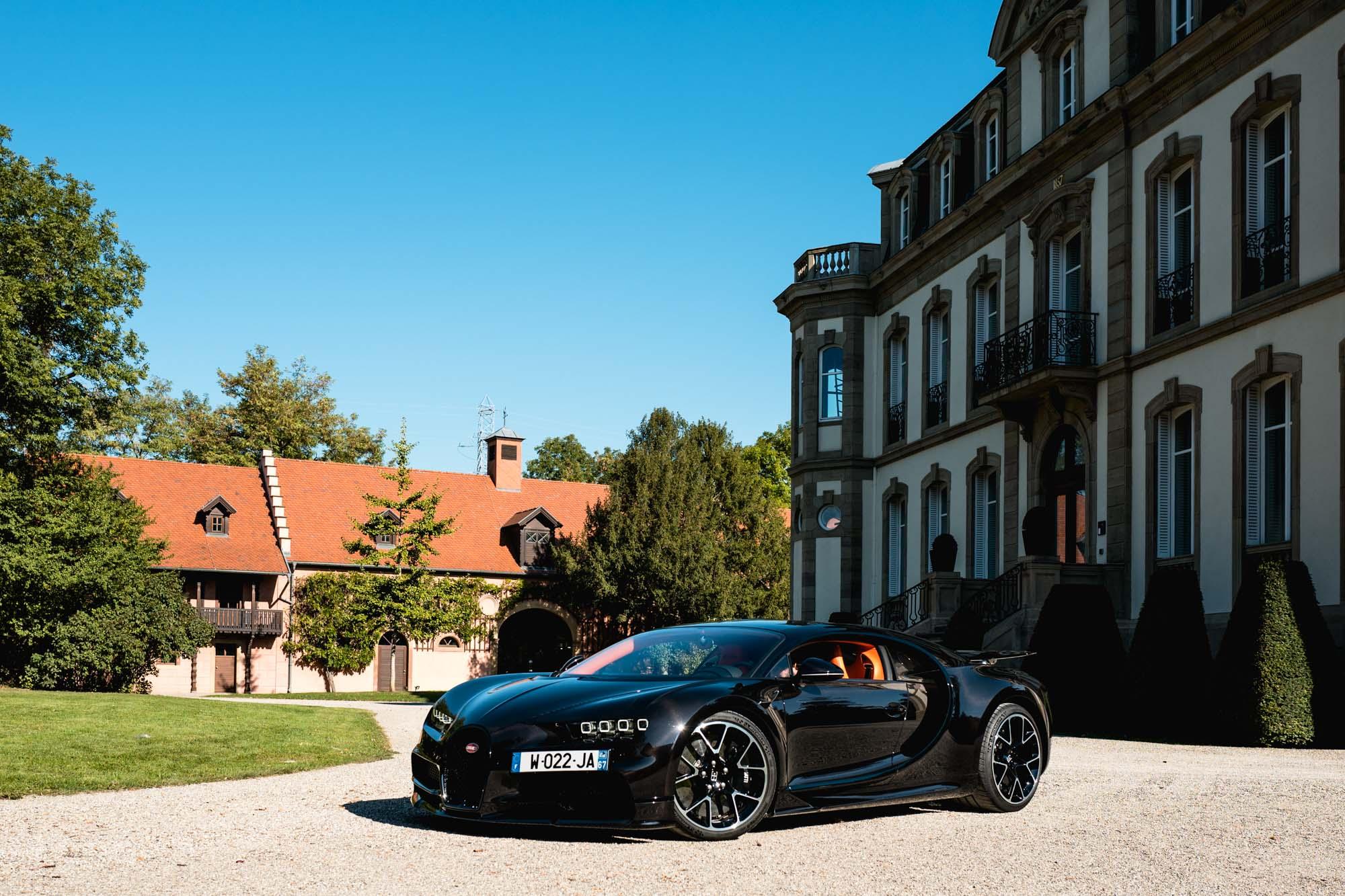 Ateliers Bugatti à Molsheim - Château Saint-Jean