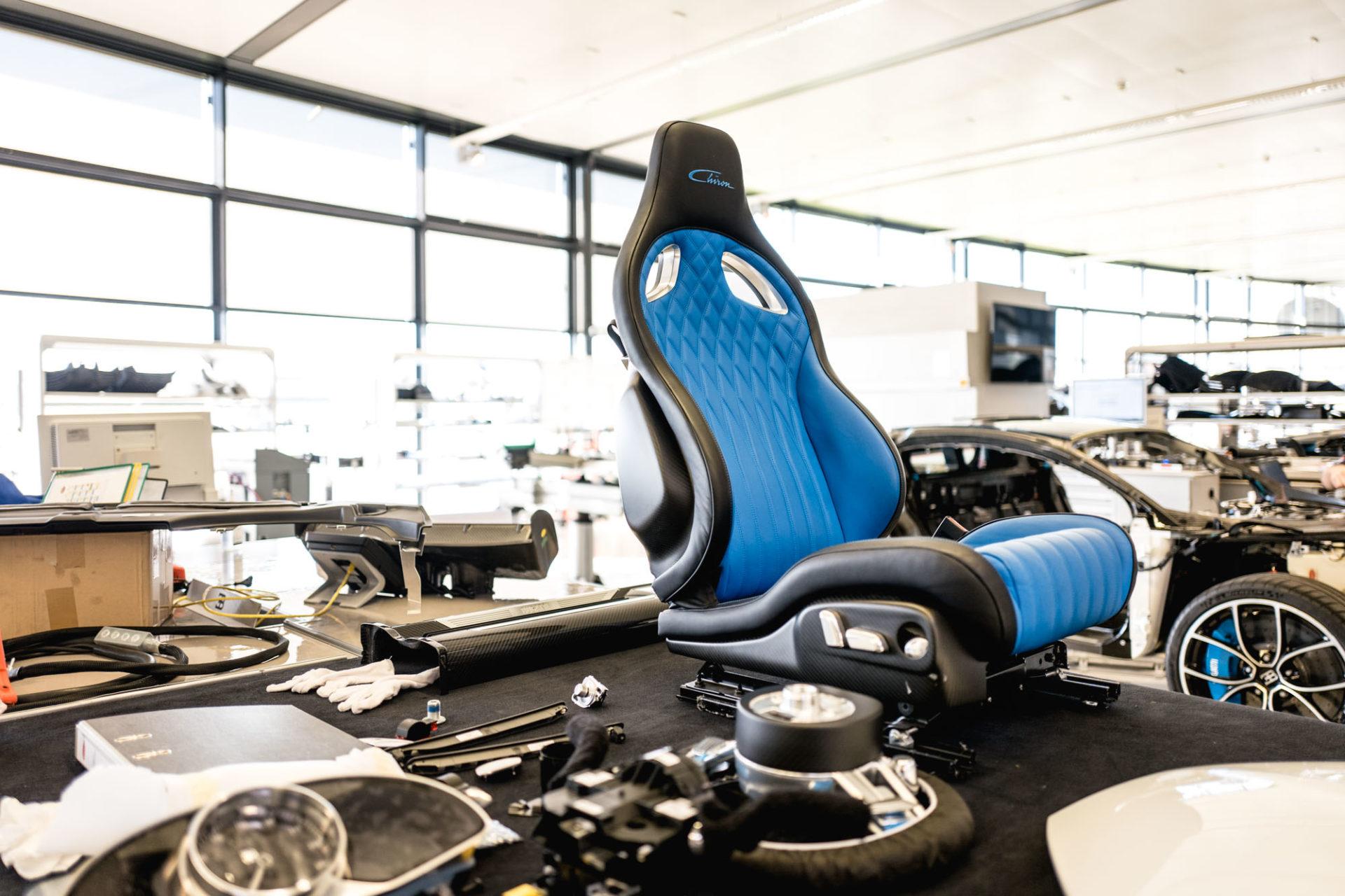 Ateliers Bugatti à Molsheim - Habillage intérieur
