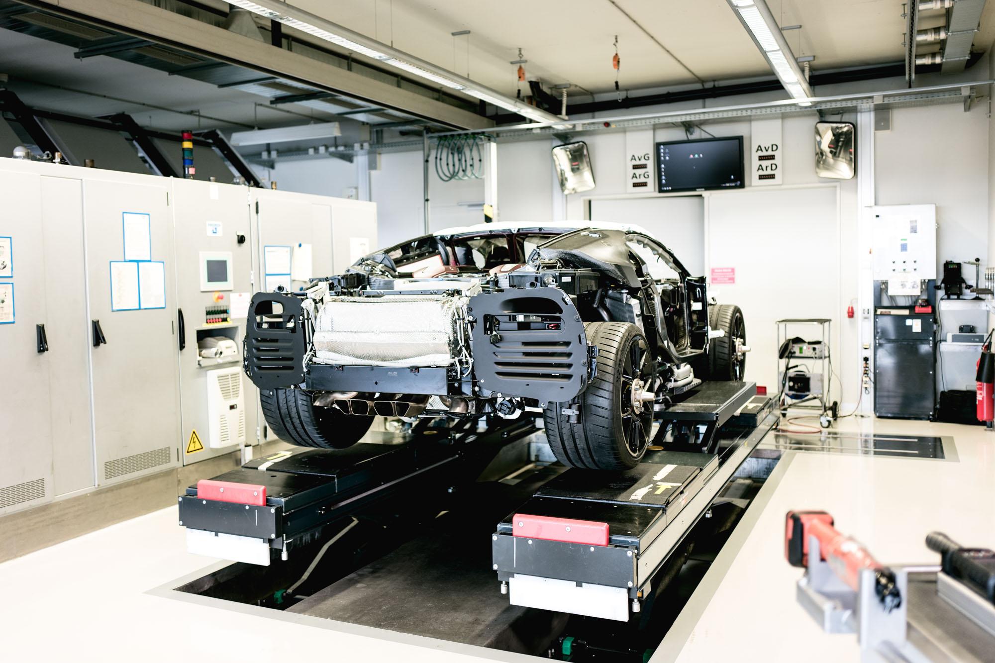 Ateliers Bugatti à Molsheim - Lieu de remplissage