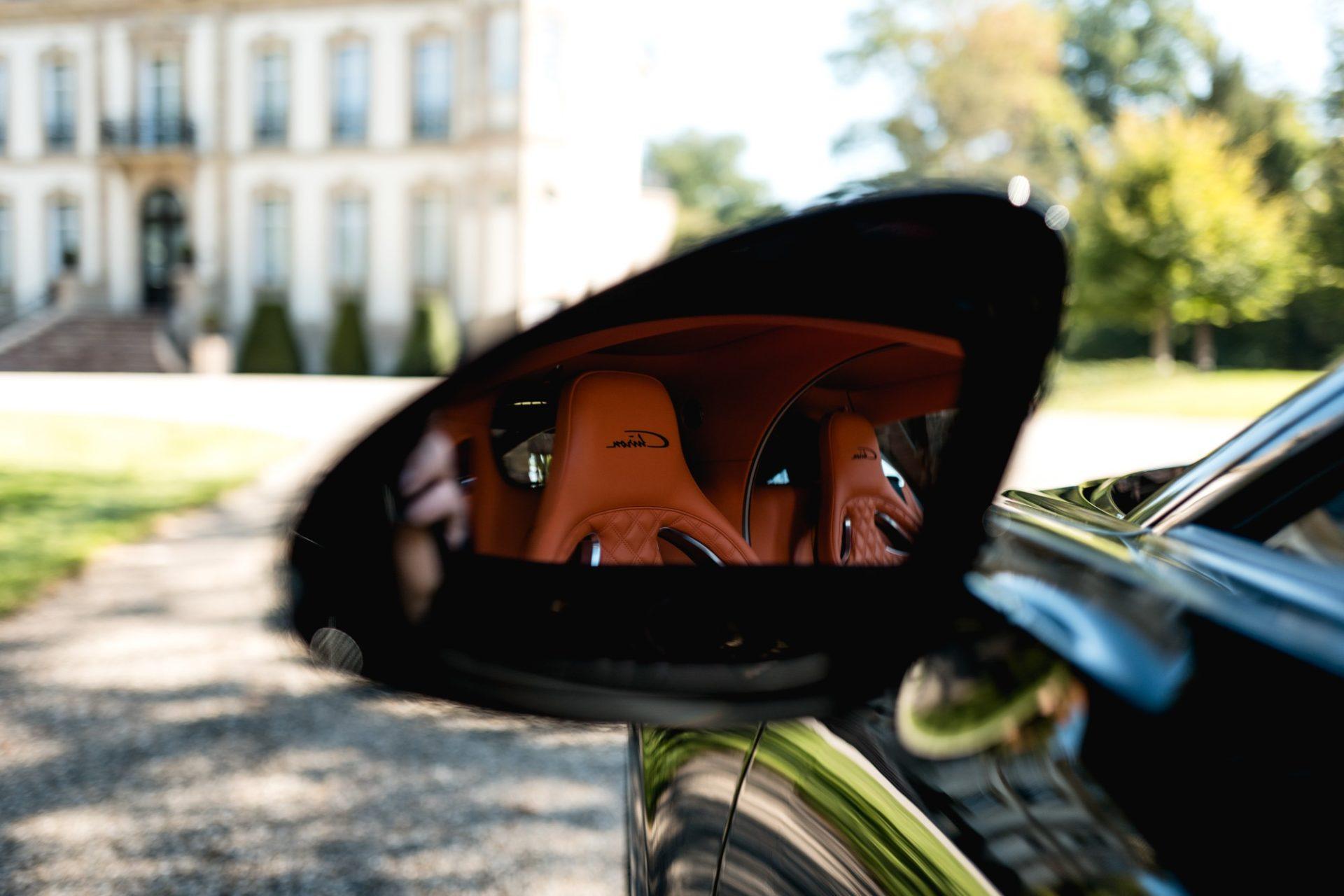 Ateliers Bugatti à Molsheim - Bugatti Chiron - Rétroviseur