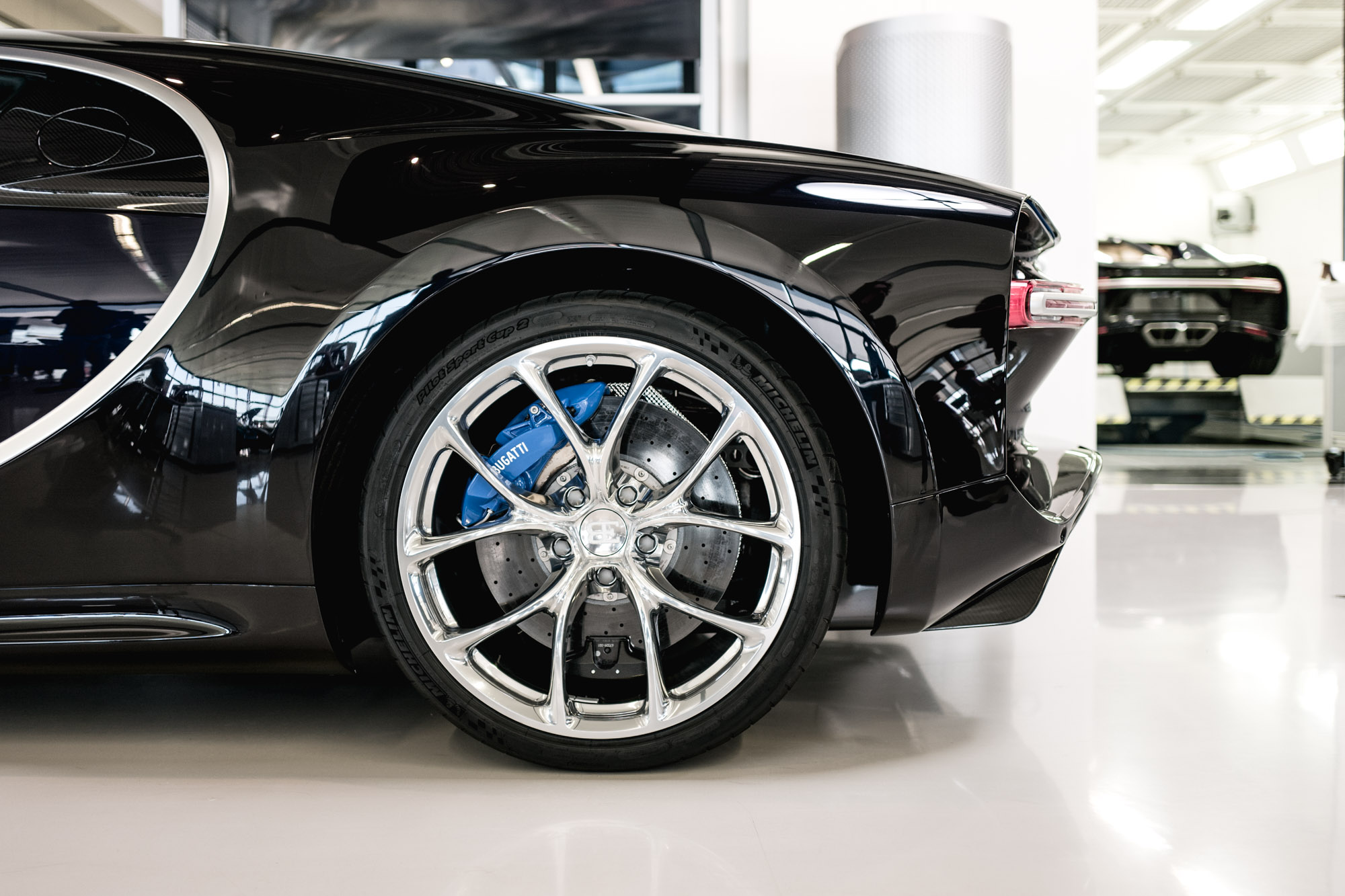 Ateliers Bugatti à Molsheim - Bugatti Chiron - Roue