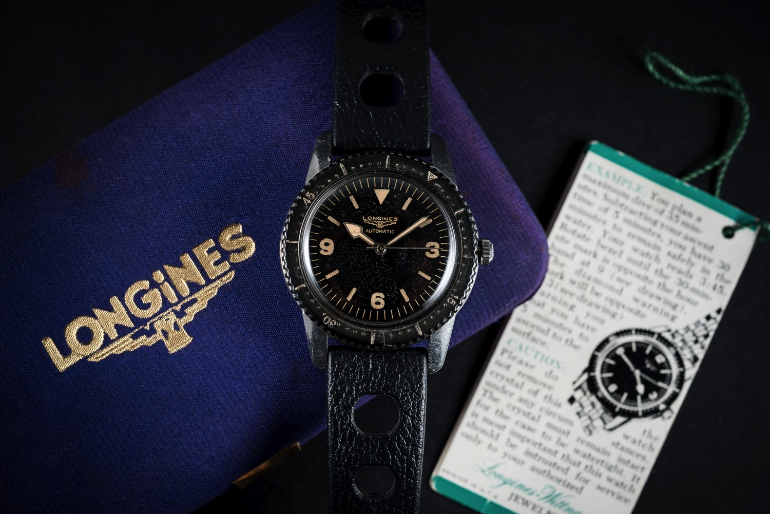 Longines Skin Diver from the 50S
