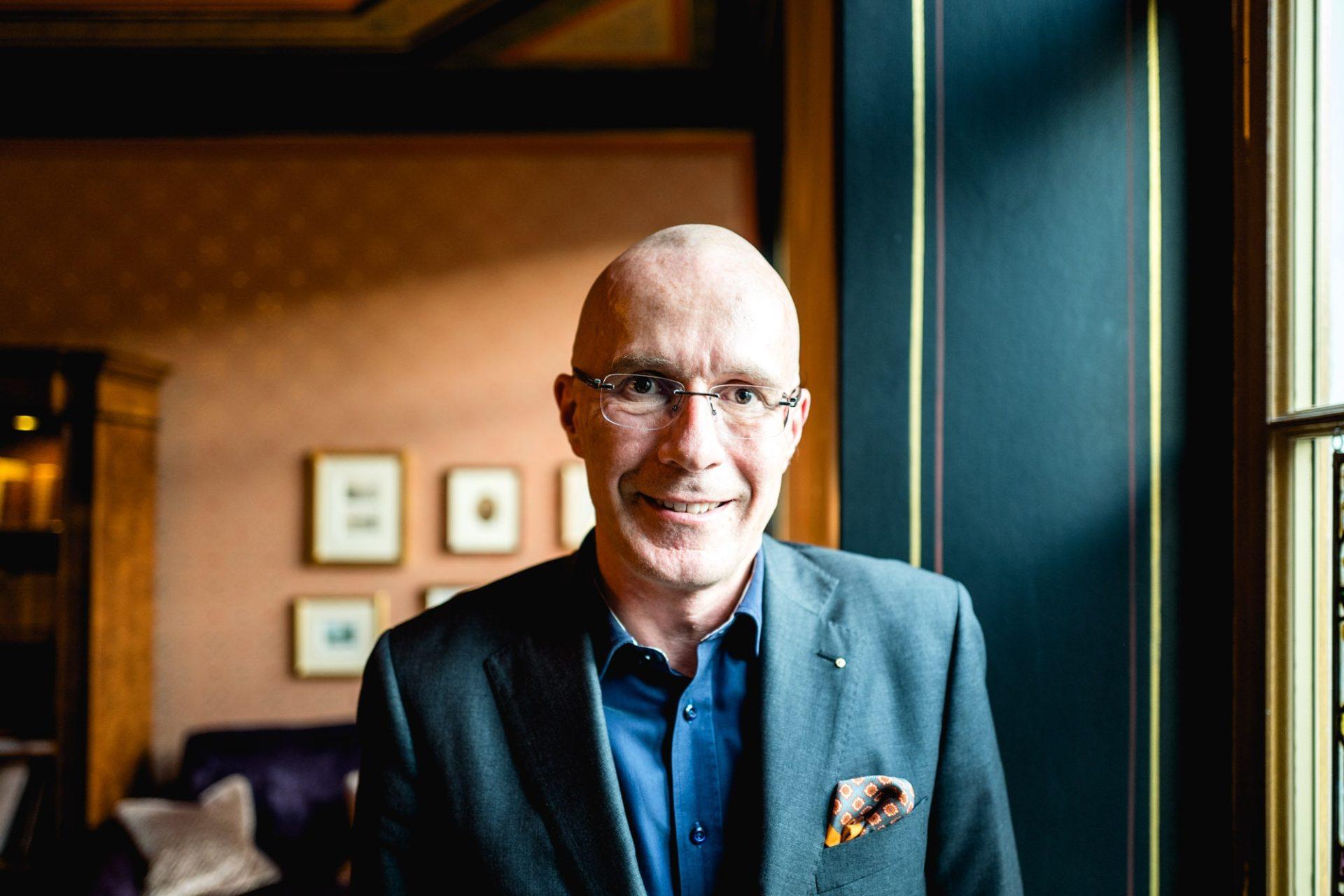 Portrait de Michel Loris-Melikoff, nouveau Directeur Général de Baselworld