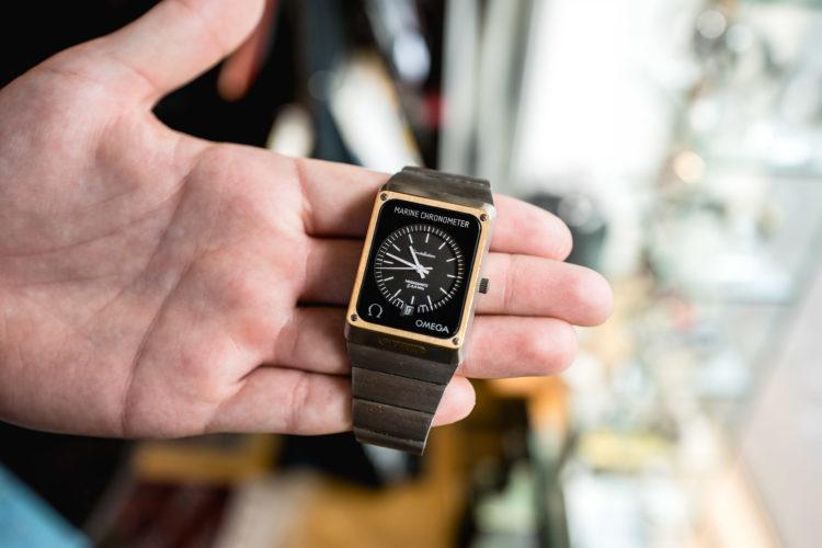 Antique Watches Basel - Omega Marine Chronometer