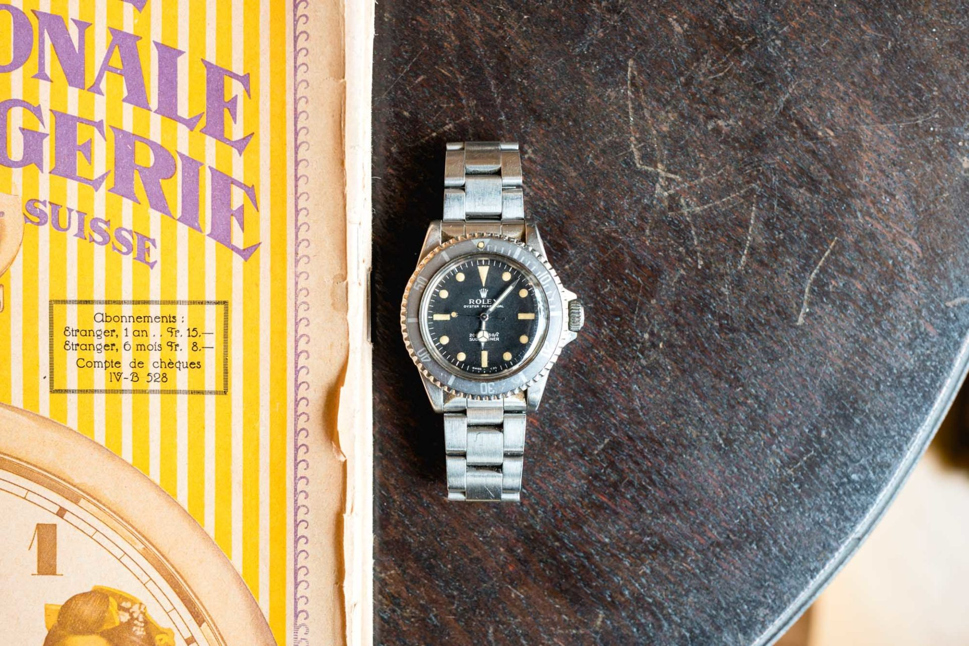Antique Watches Basel -Rolex Submariner 5513