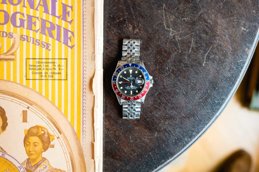 Antique Watches Basel -Rolex GMT-Master 1675