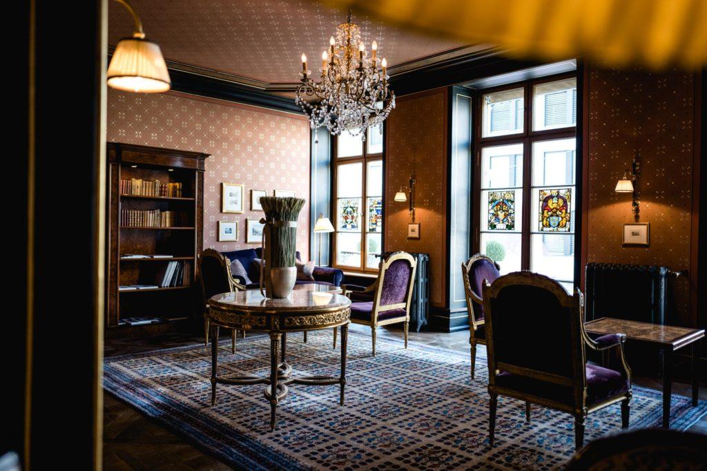 Grand Hôtel les Trois Rois - Bibliothèque