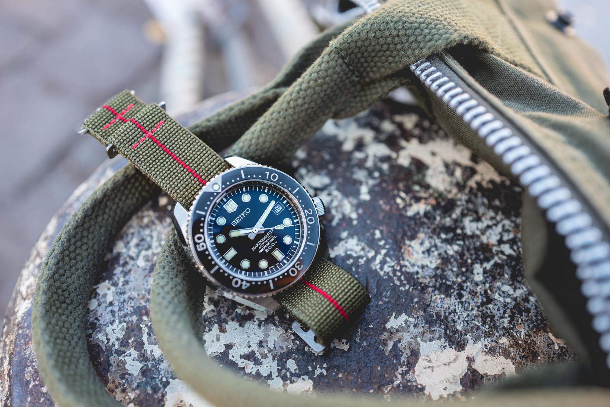 MN Straps - Bracelets Marine Nationale - Seiko Marine Master 300