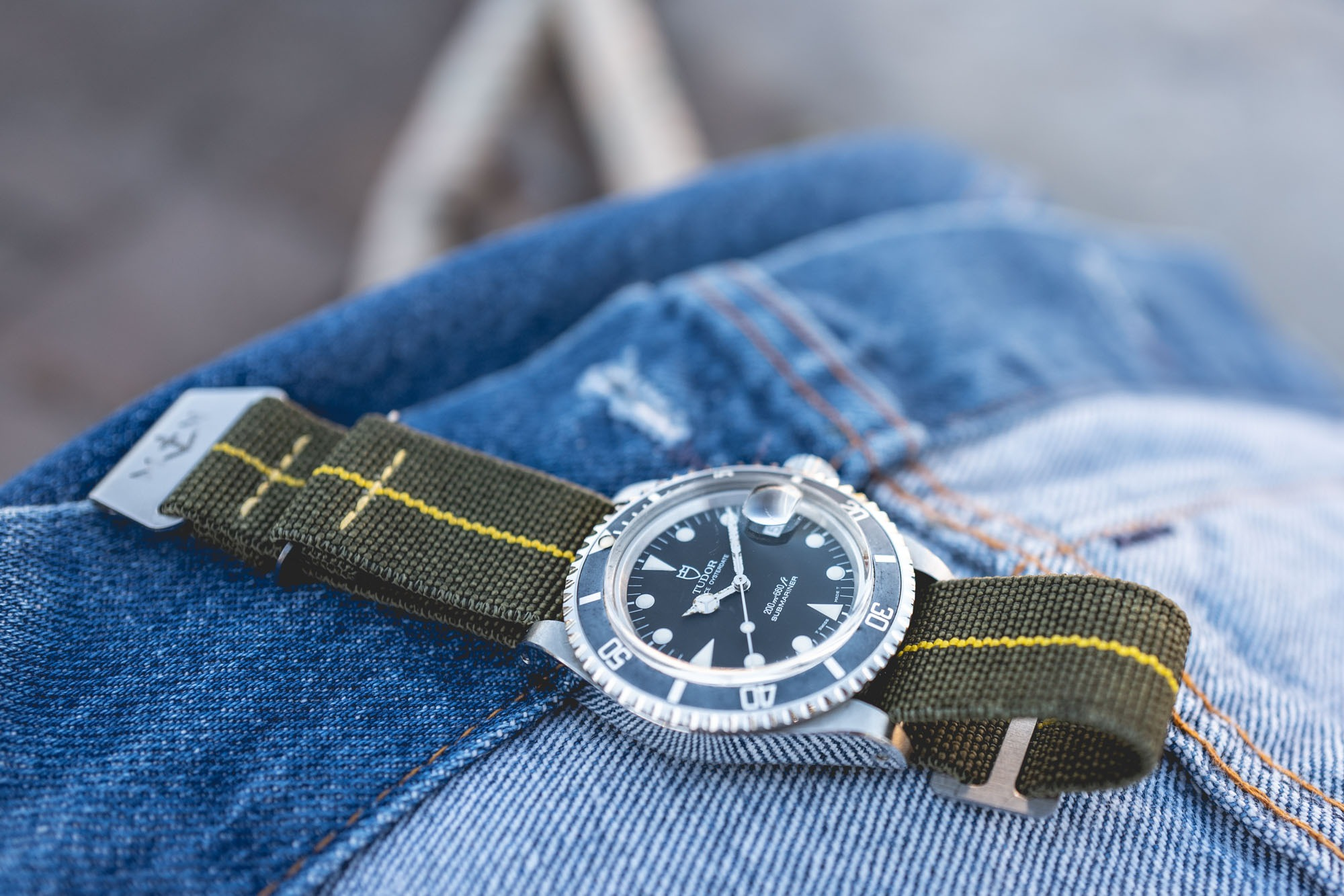 MN Straps - Bracelets Marine Nationale - Tudor Submariner 79090