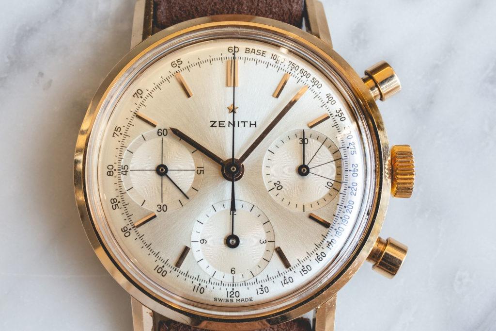Zenith chronograph 146H - Cadran