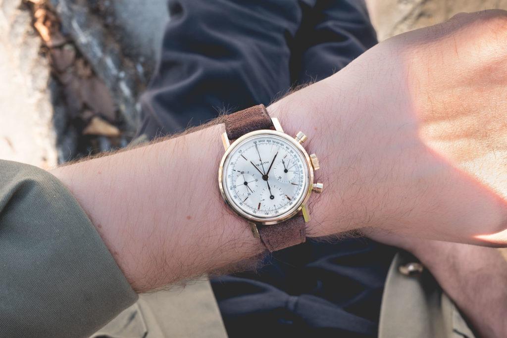 Zenith chronograph 146H - Style