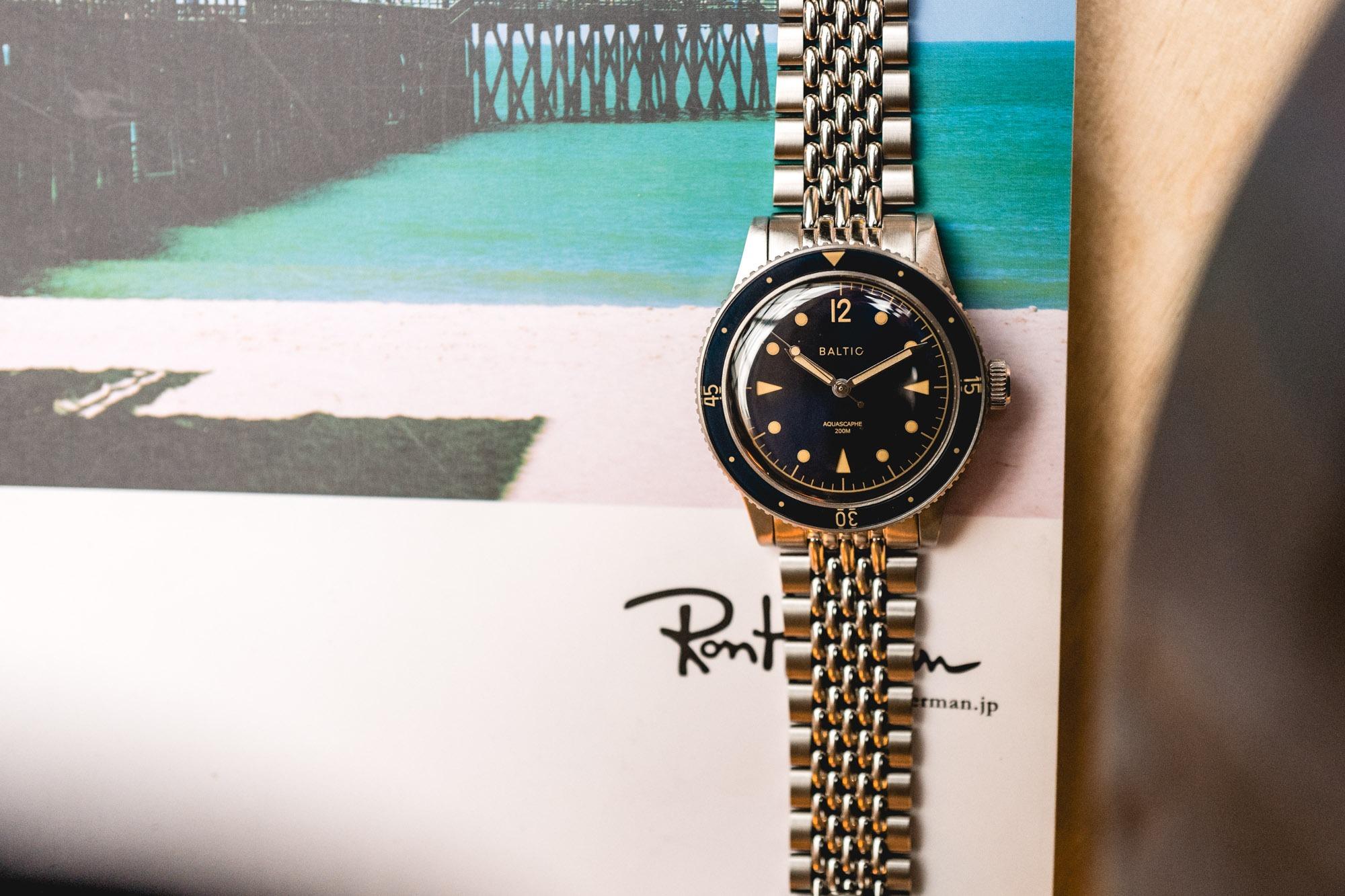 """Baltic Aquascaphe et son bracelet """"Grains de riz"""""""