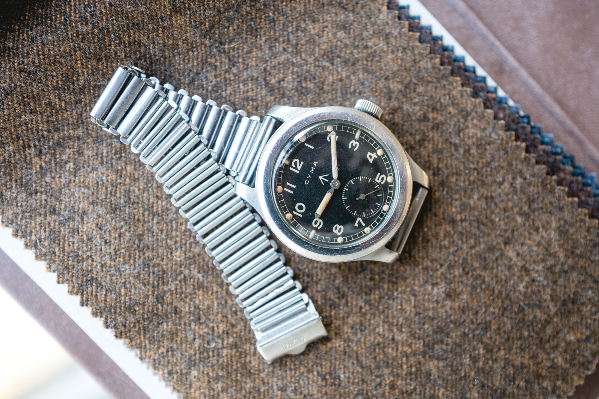 CYMA - RAF WWW Dirty Dozen - Bracelet Bonklip