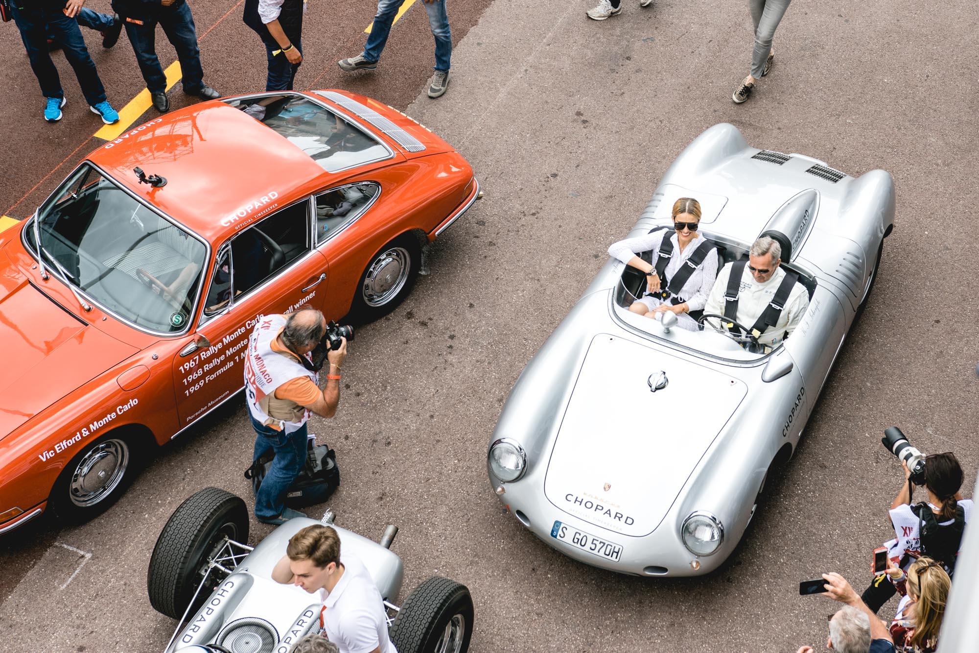 Grand Prix de Monaco Historique - Petra Nemcova et Karl-Friedrich Scheufele