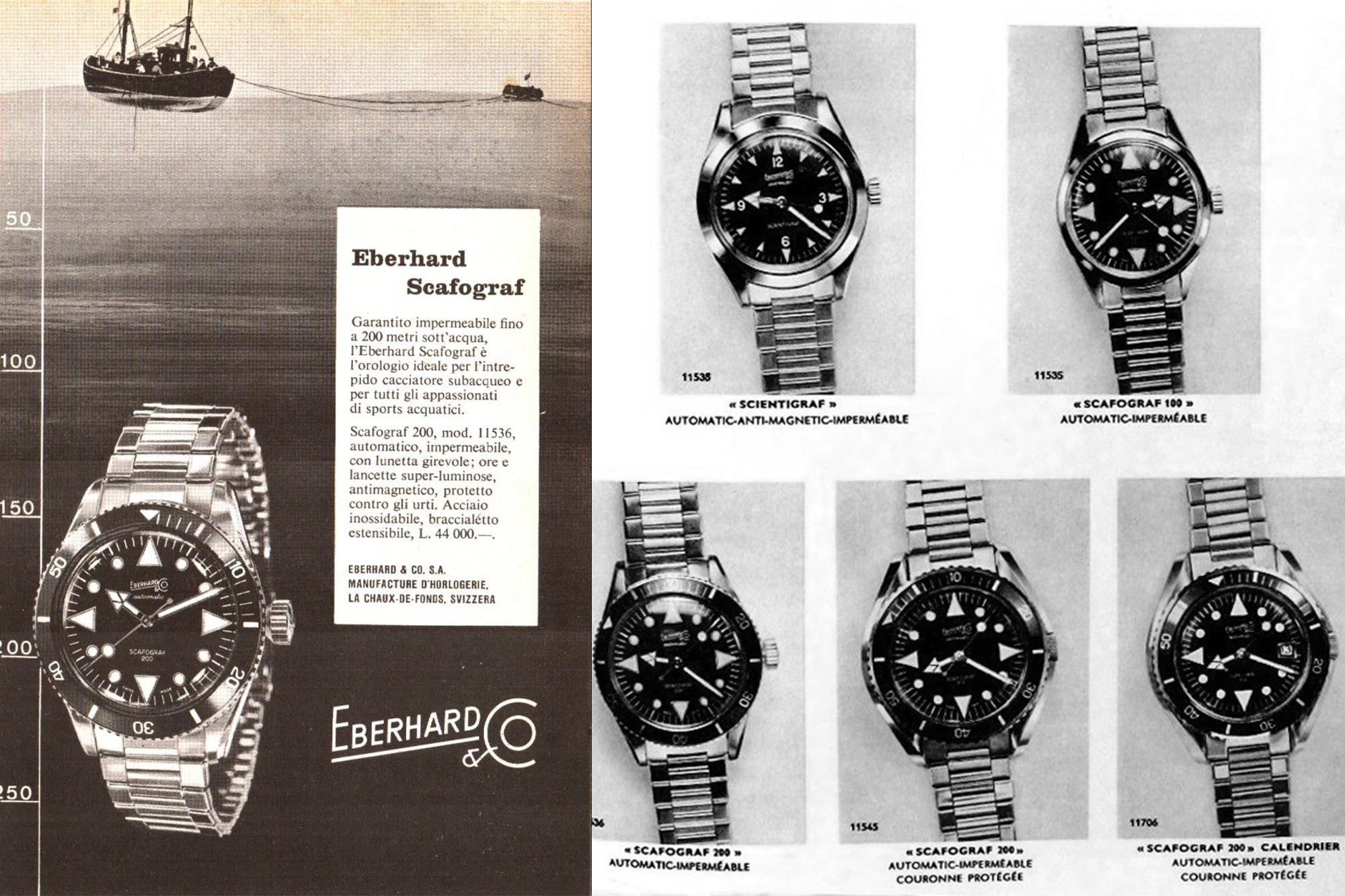 Eberhard & Co Scafograf Evolution