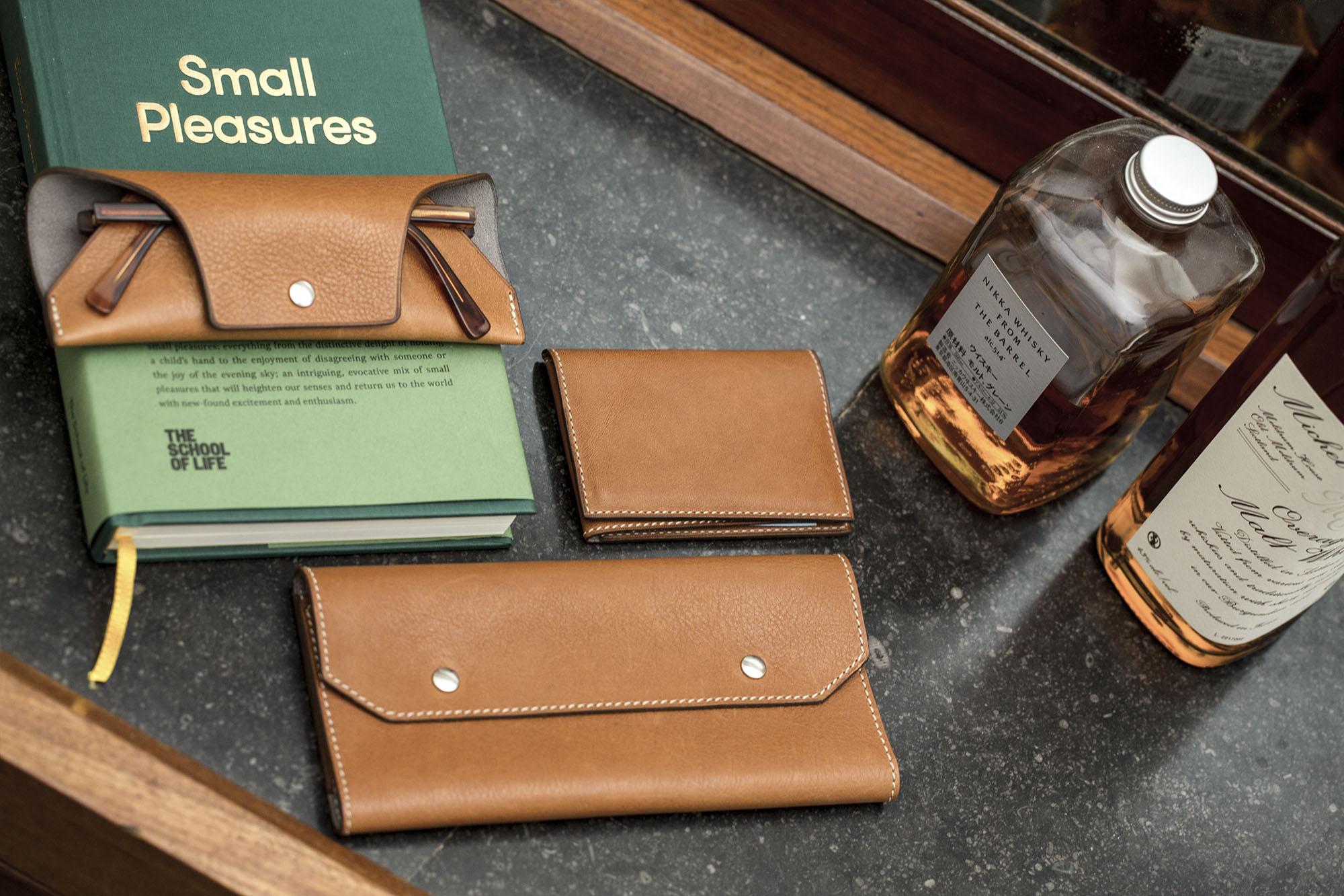 Pack accessoires cuir Joseph Bonnie - Caramel Brown