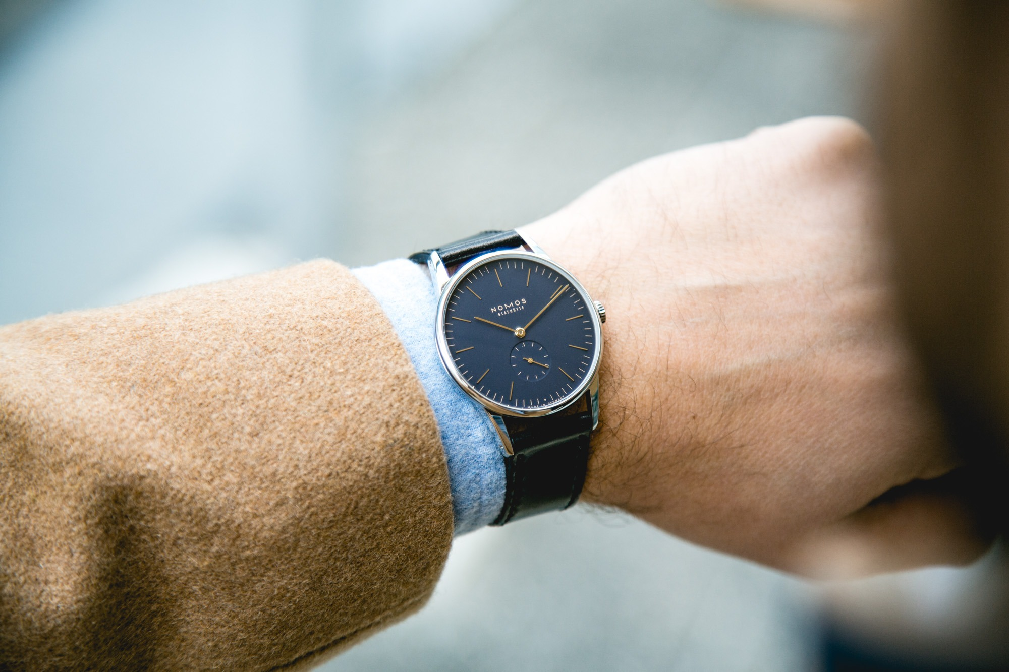 Nomos Orion Midnight Blue 38mm