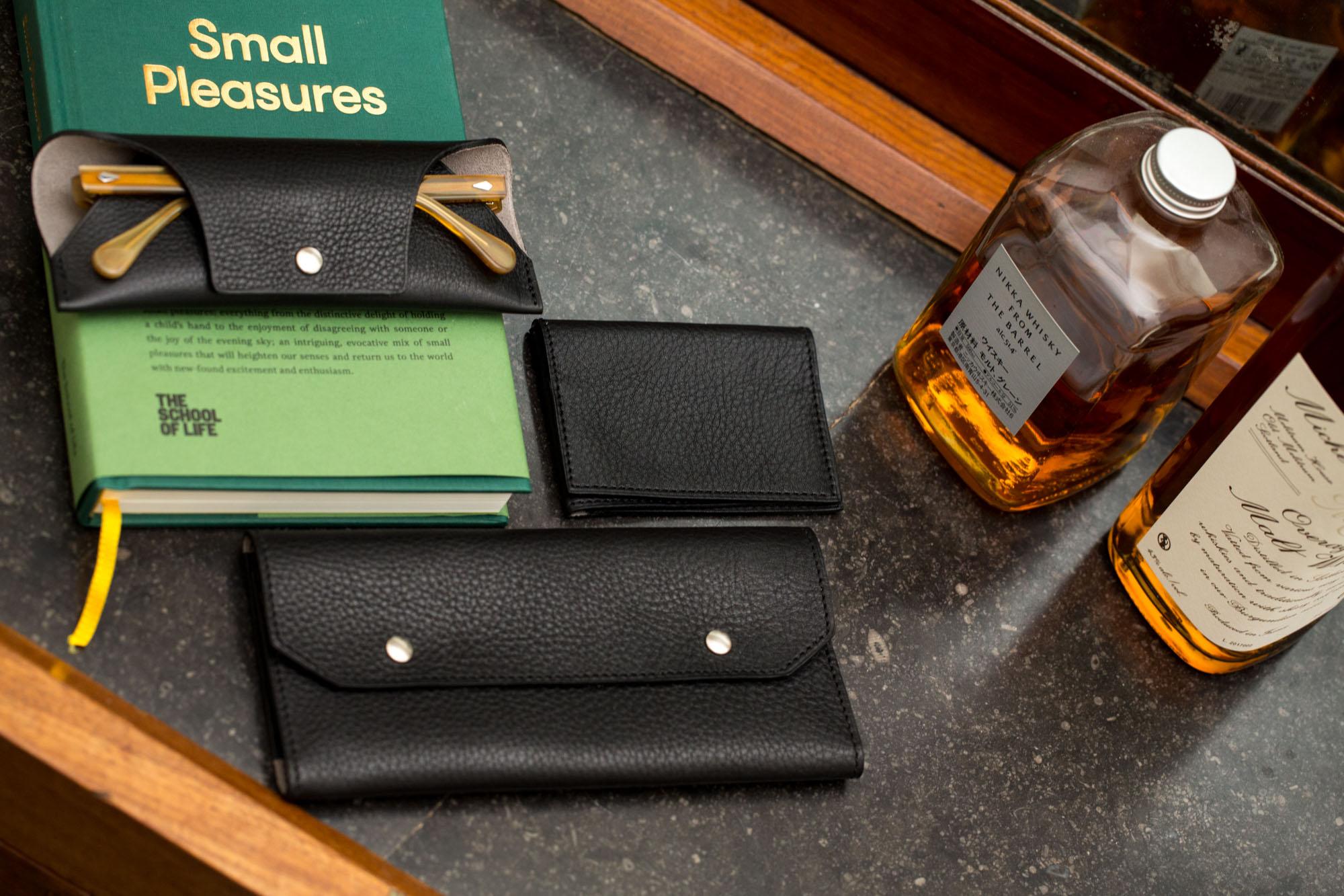 Pack accessoires cuir Joseph Bonnie - Black
