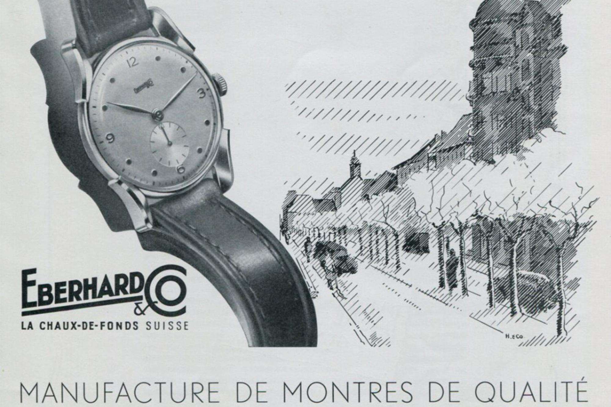 Eberhard & Co Vintage ad