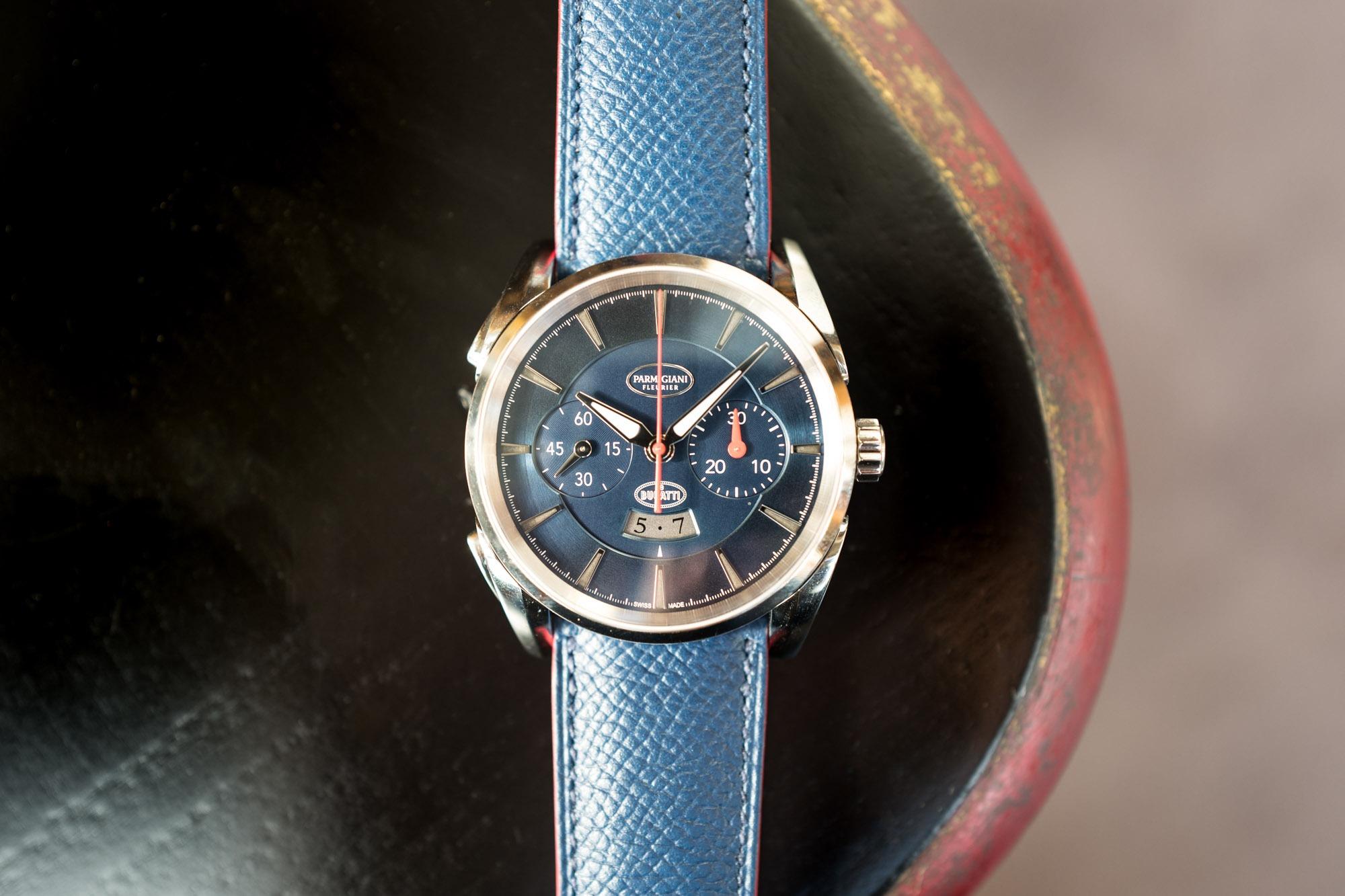 Parmigiani Fleurier Bugatti Aérolithe Chronograph