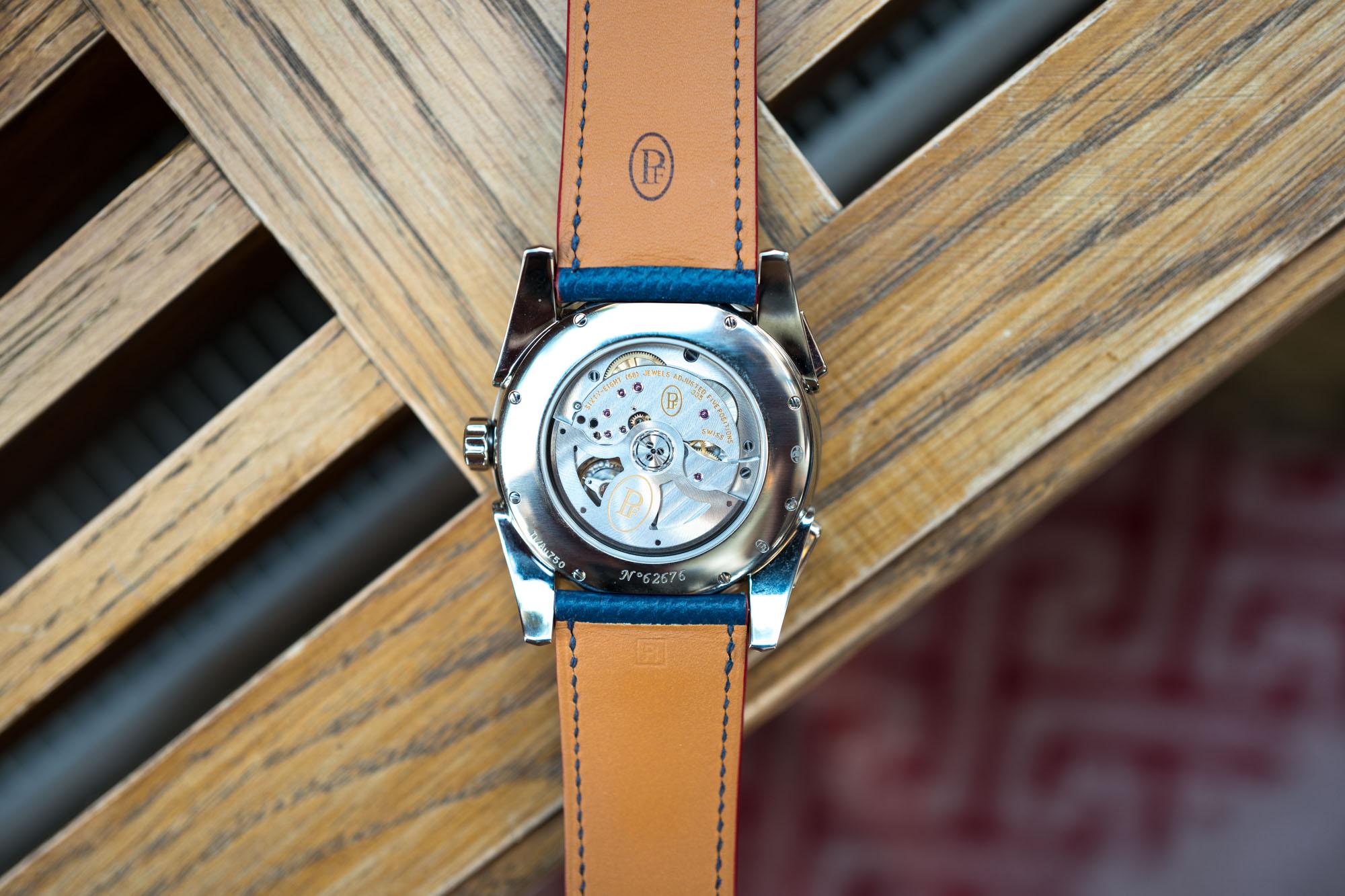 Parmigiani Fleurier Bugatti Aérolithe Chronograph - Mouvement PF355