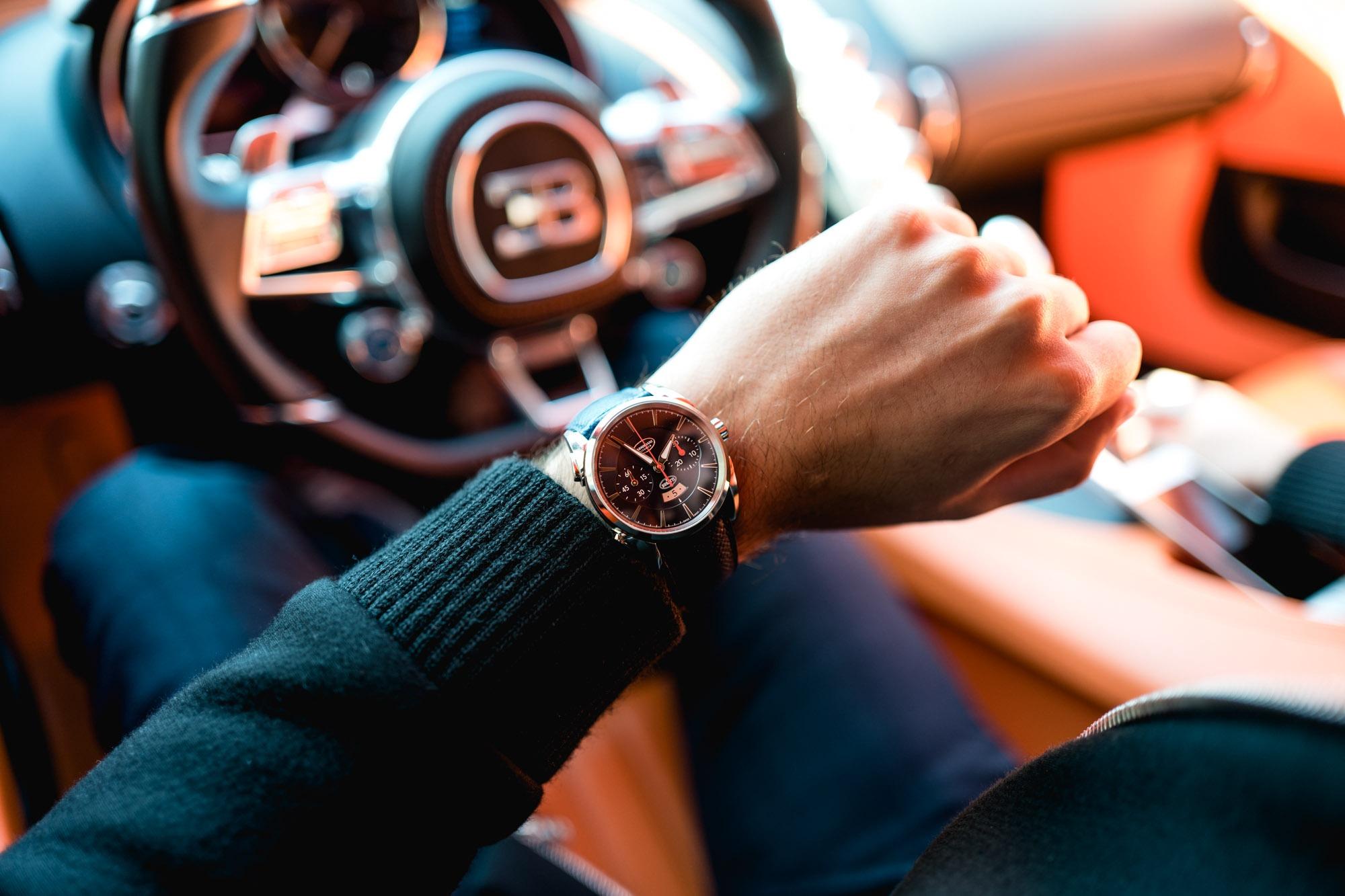 Parmigiani Fleurier Bugatti Aérolithe Chronograph - Style