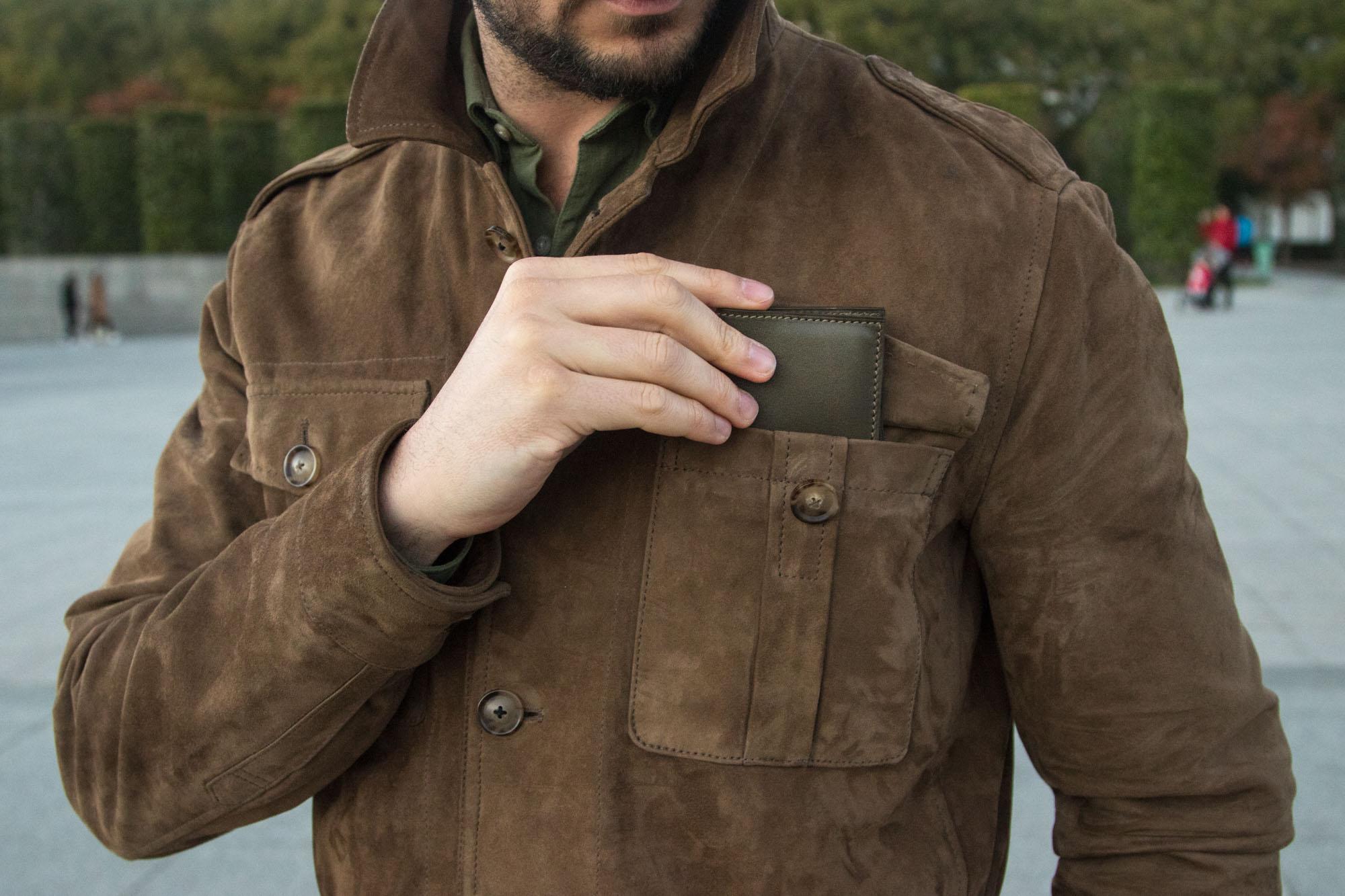 Joseph Bonnie - Buddy : Portefeuille minimaliste en cuir