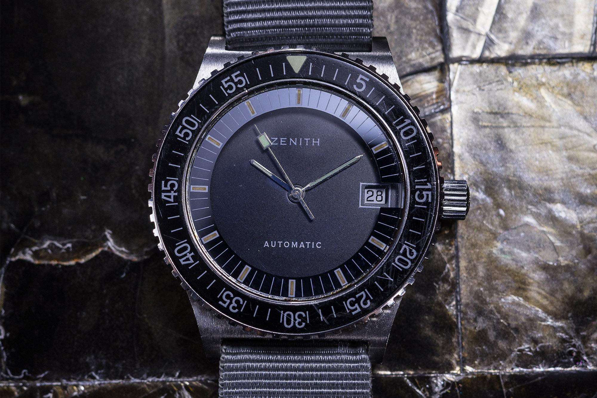 Leclere - Vente de Montres de Collection - Zenith Diver