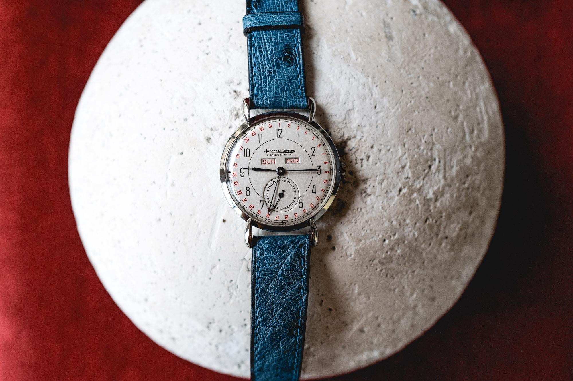 Tajan - Vente de montres du 11 décembre -Jaeger-LeCoultre Triple quantième