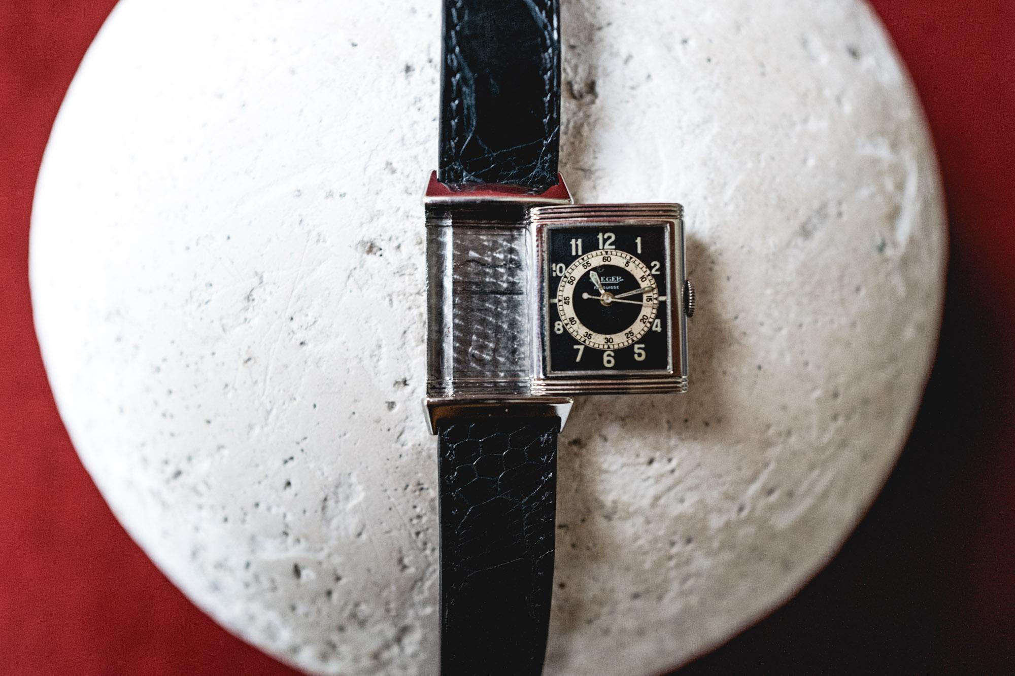 Tajan - Vente de montres du 11 décembre -Jaeger-LeCoultre Reverso années 1930