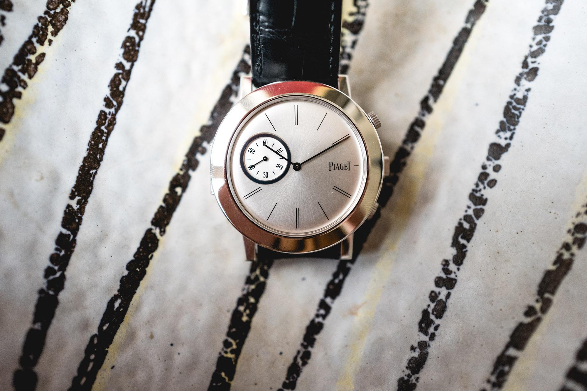 Tajan - Vente de montres du 11 décembre - Piaget Altiplano Double Jeu