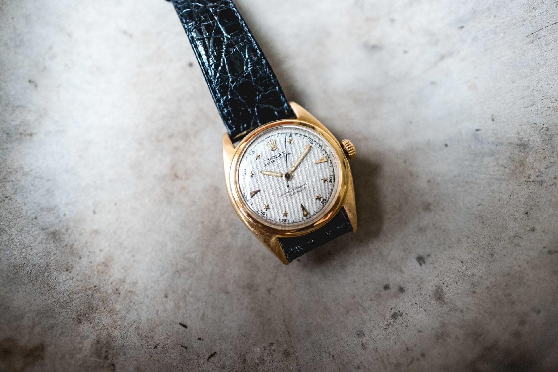 Tajan - Vente de montres du 11 décembre - Rolex Oyster Perpetual Ref. 6098Tajan - Vente de montres du 11 décembre - Rolex Oyster Perpetual Ref. 6098