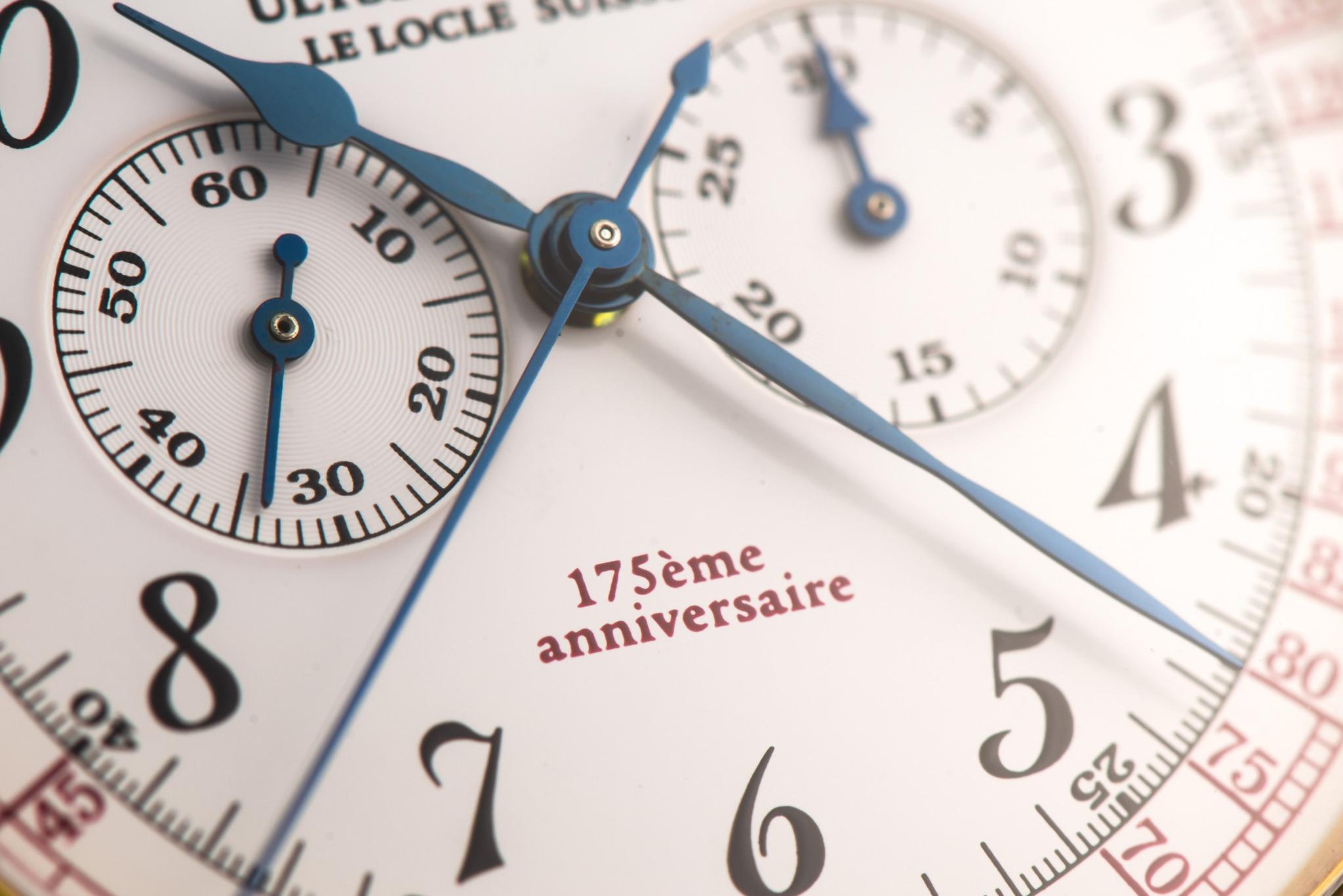 Lot 333 : Ulysse Nardin, Chronographe Mono-poussoir en or
