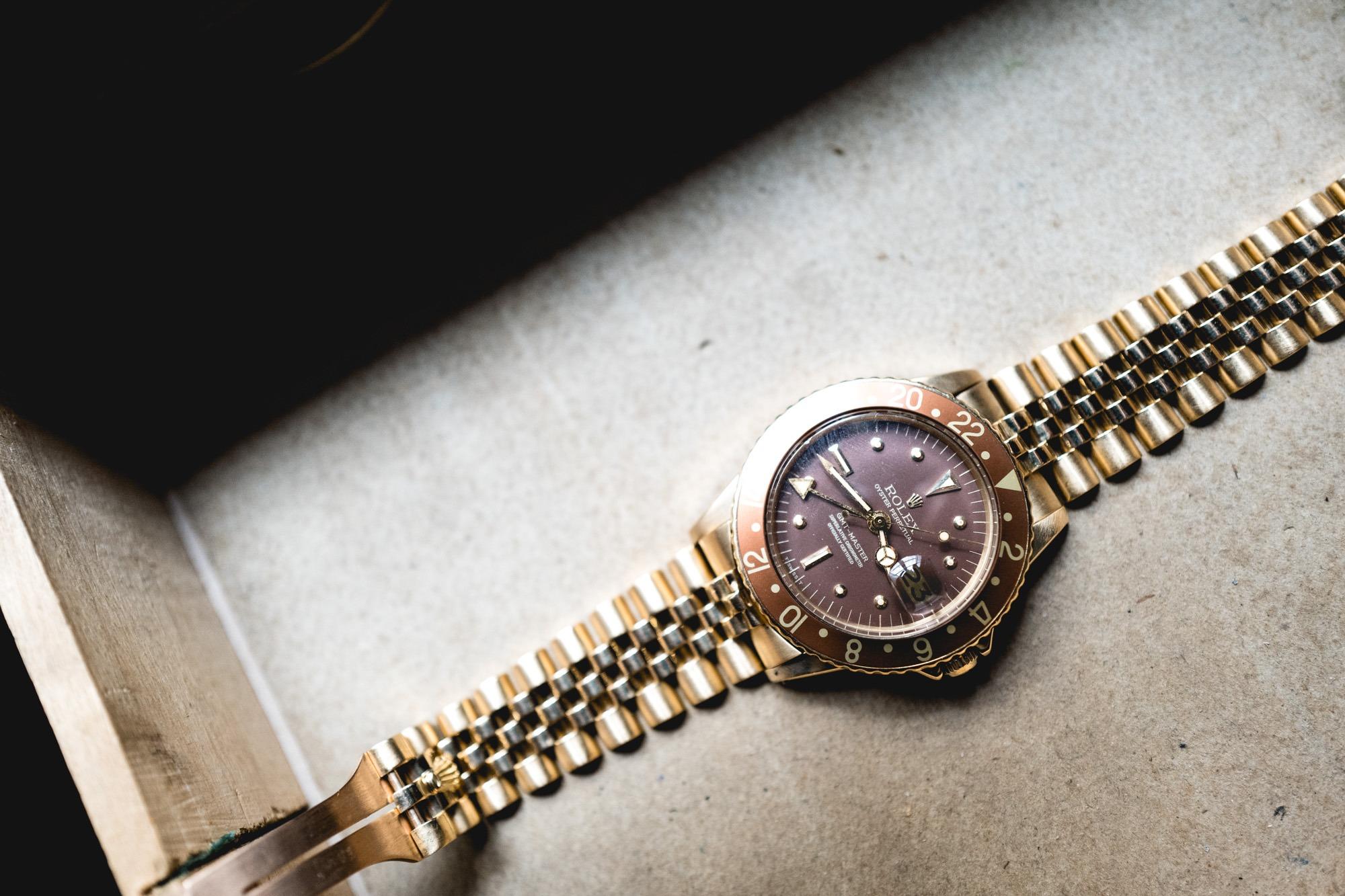 Rolex GMT Master 1675 - Gold