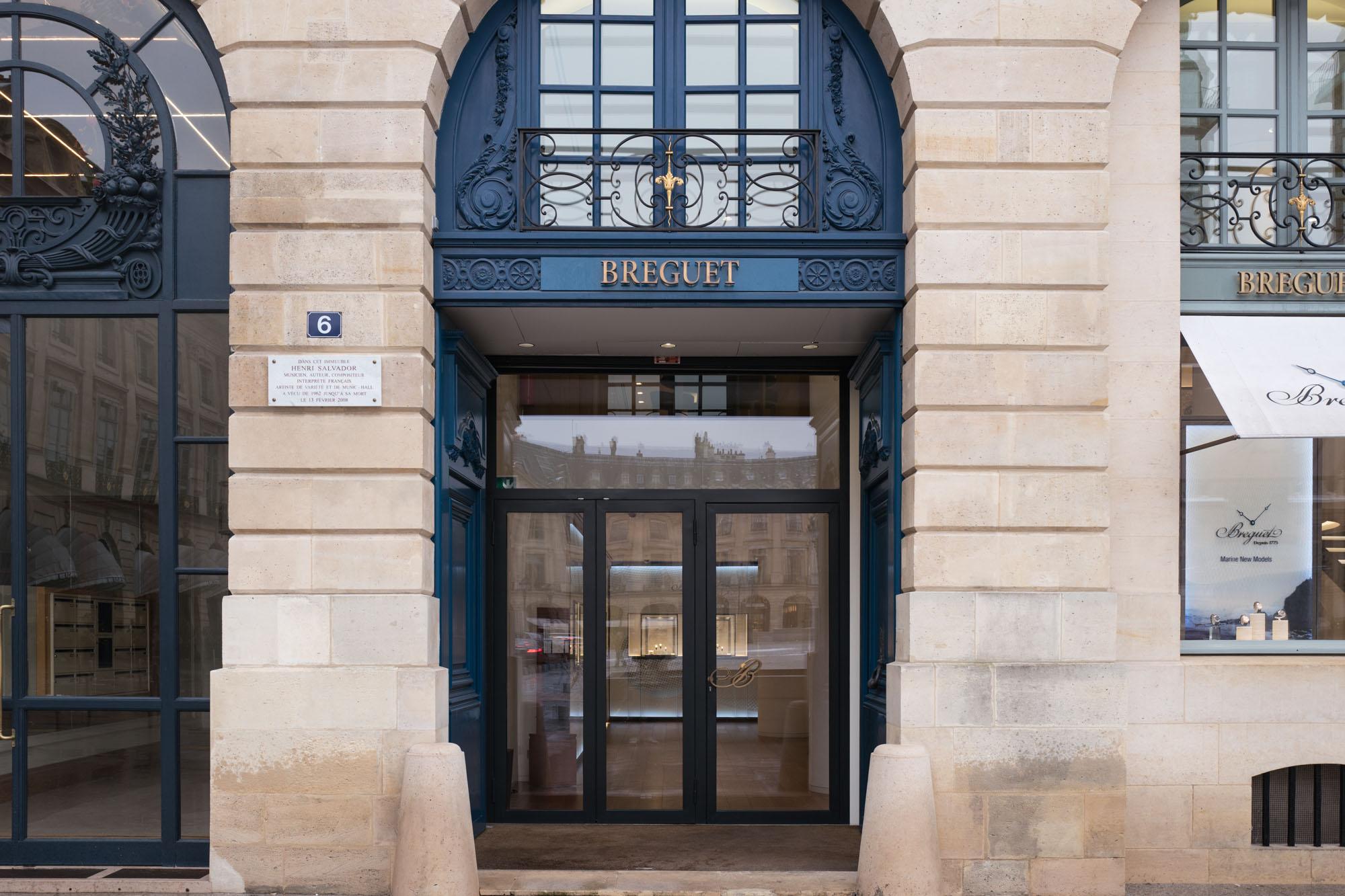 Boutique Breguet - Place Vendôme