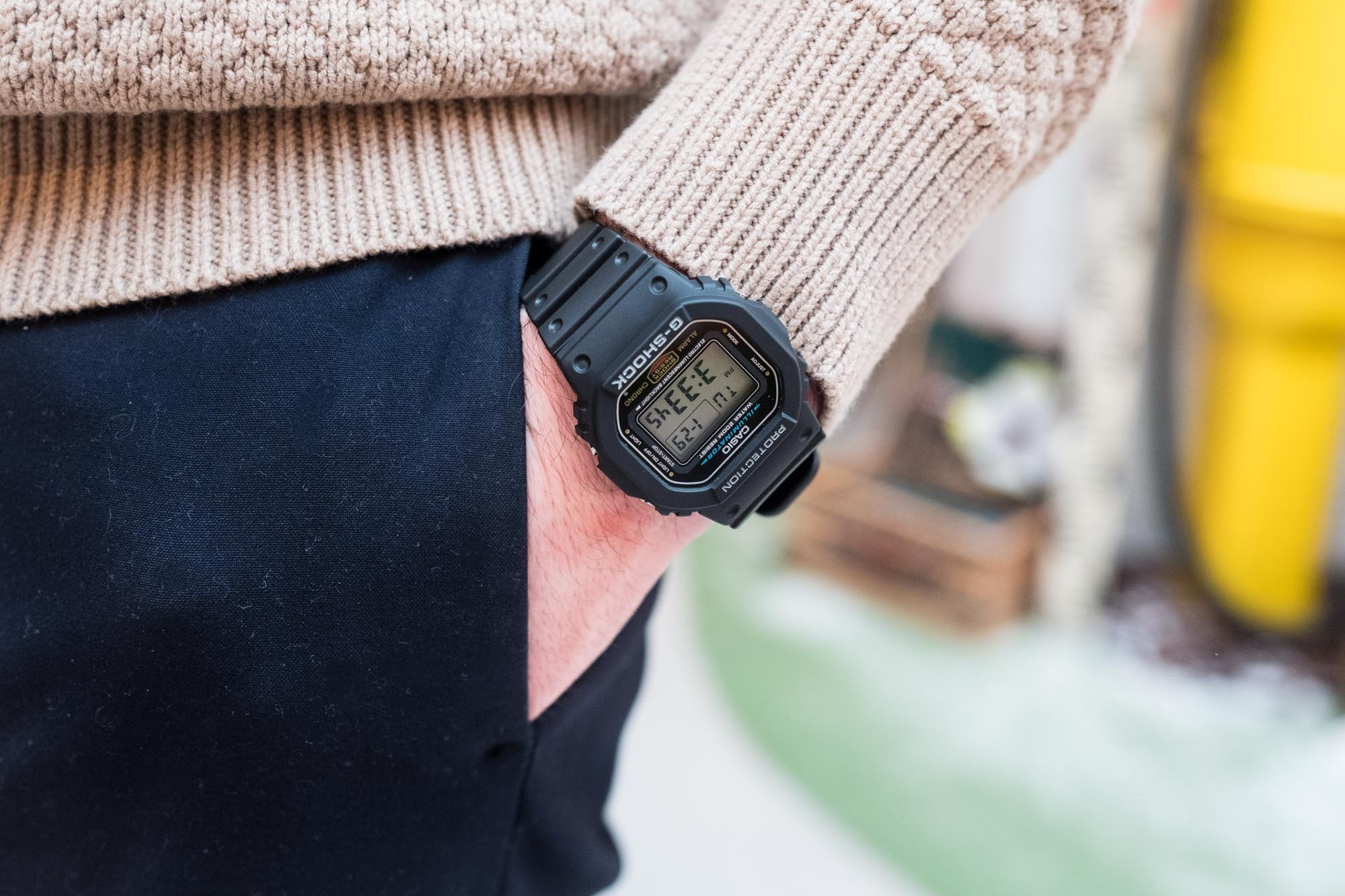 Casio G Shock DW 5600E