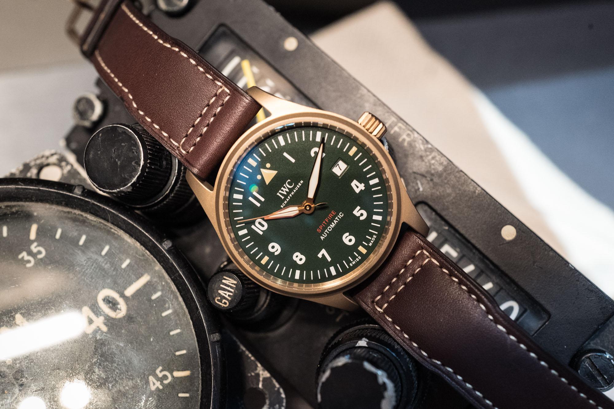 IWC - SIHH 2019 - Montre d'Aviateur Automatique Spitfire Bronze