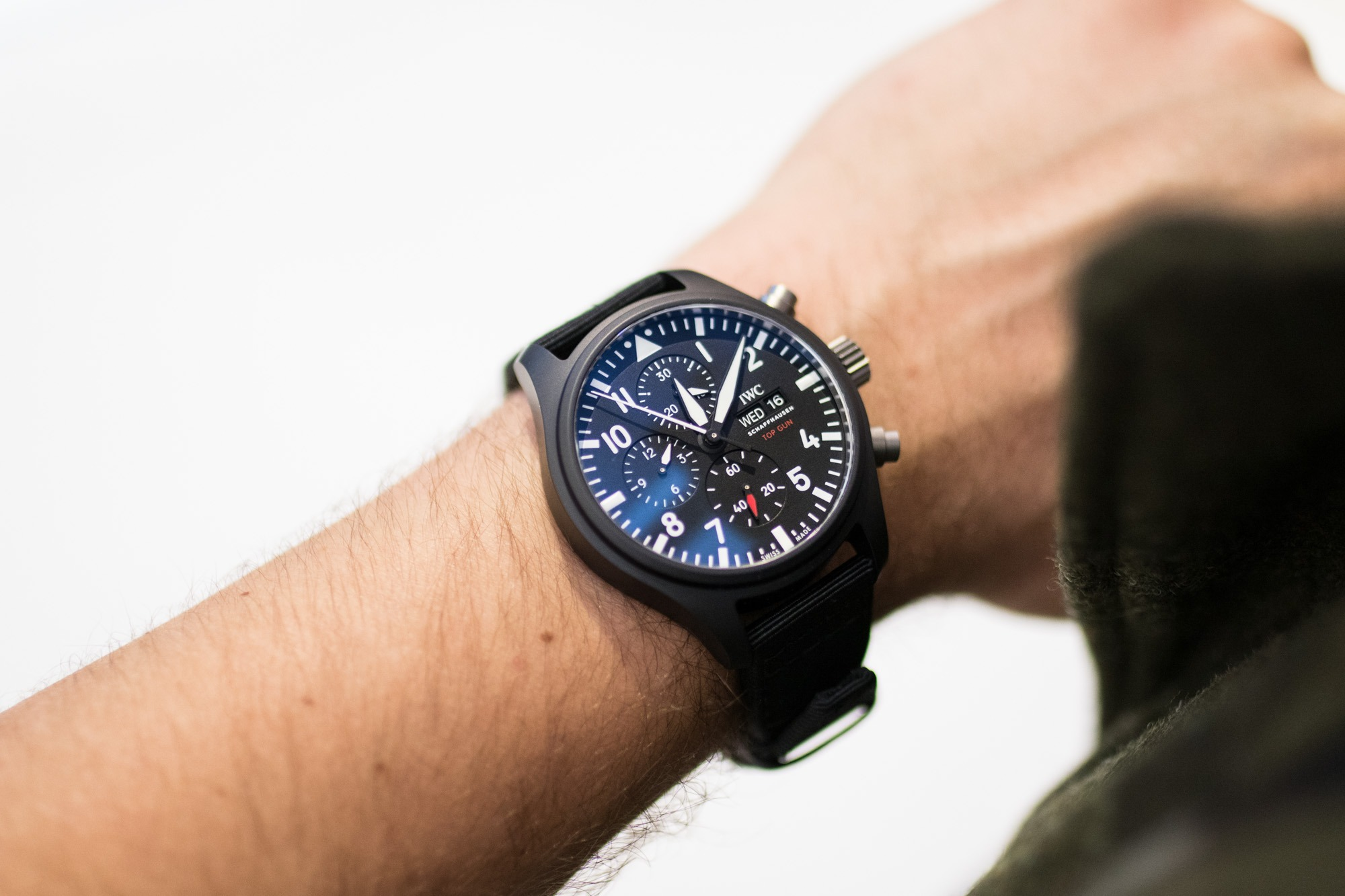 IWC - SIHH 2019 - Montre d'Aviateur Chronographe Top Gun
