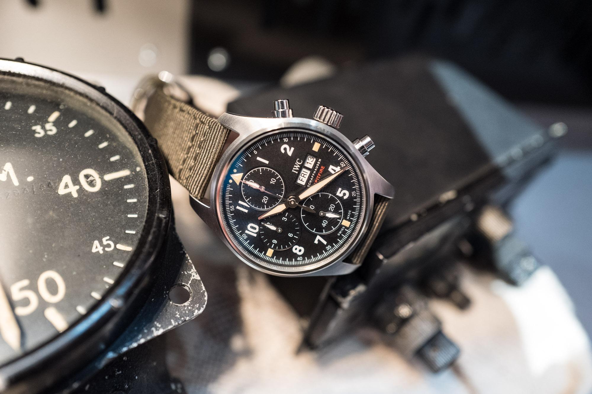 IWC - SIHH 2019 - Montre d'Aviateur Chronographe Spitfire