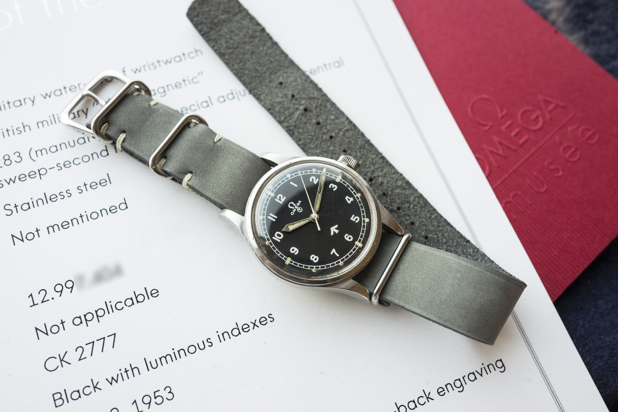 "Omega CK2777-1 ""Fat arrow"""