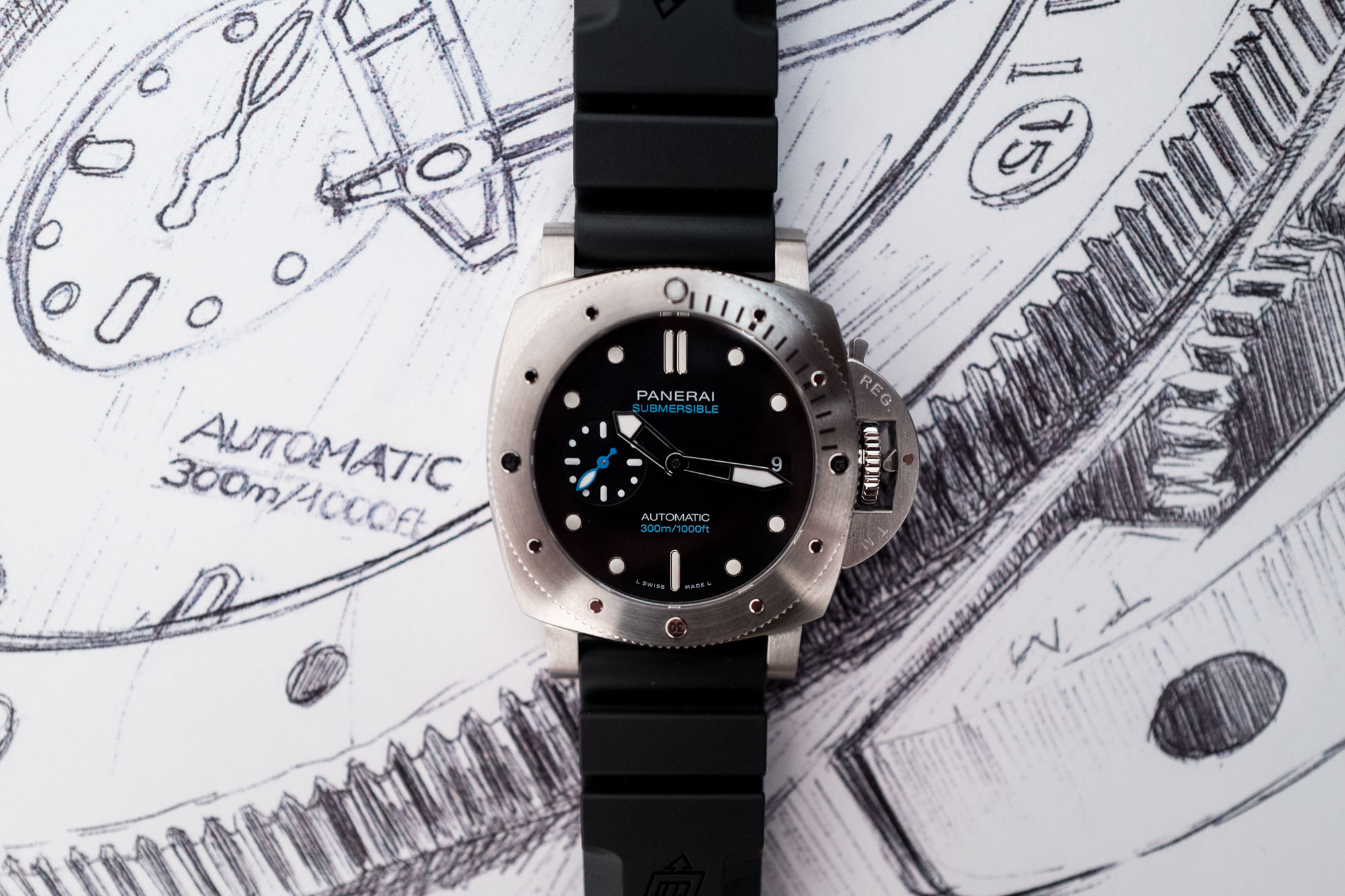 Panerai Submersible 42 MM SIHH 2019