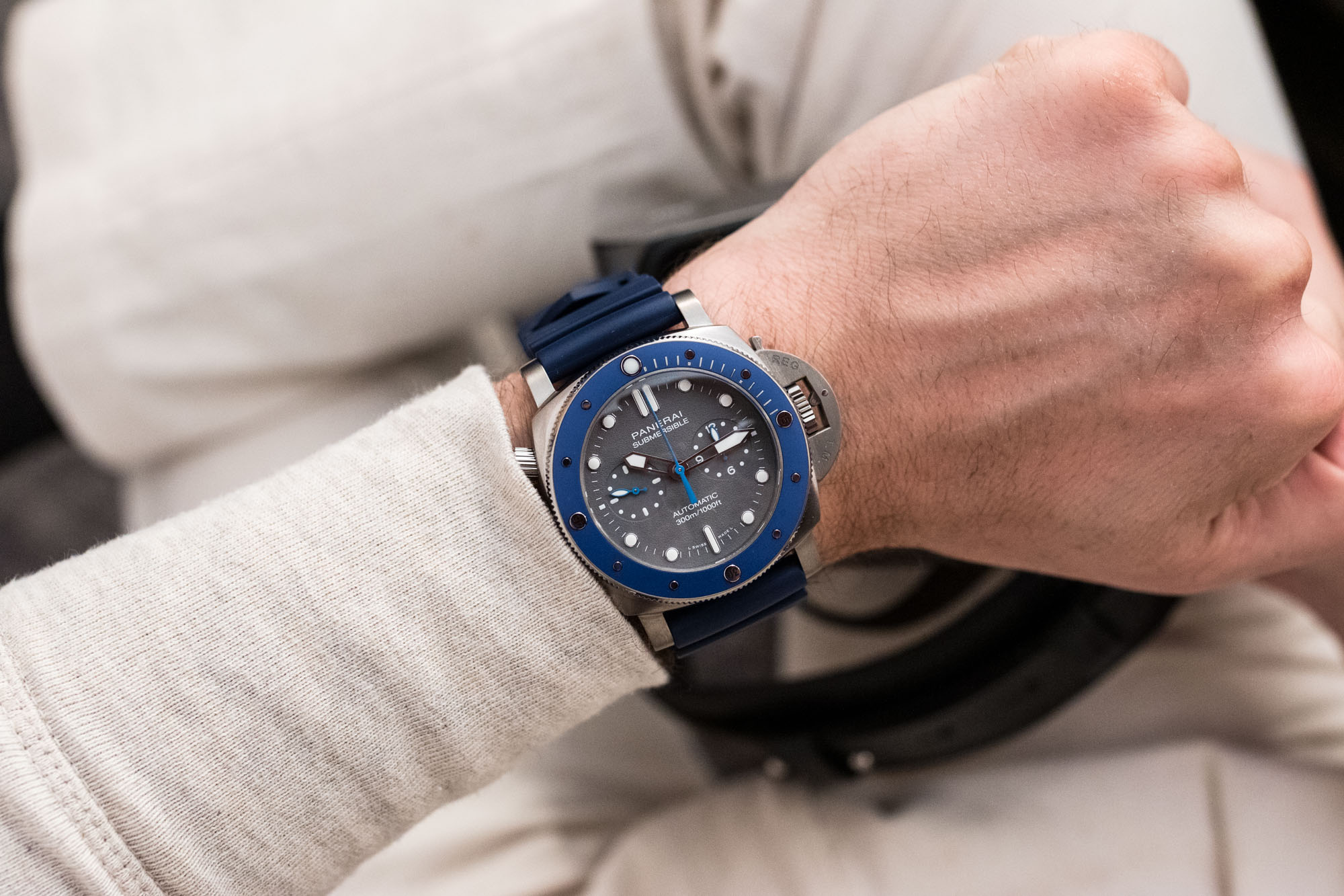 Panerai Submersible Chronographe Guillaume Nery