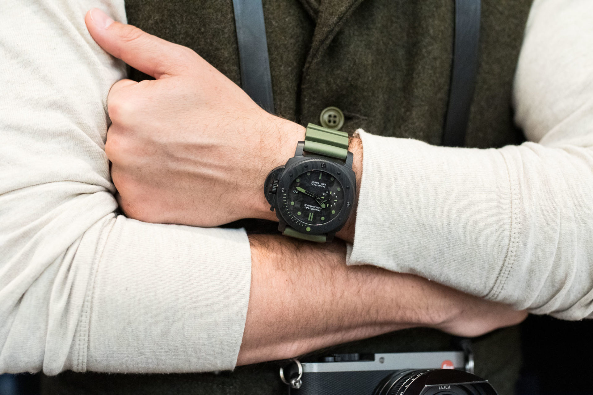 Panerai Submersible Marina Militare Carbotech Ed Speciale