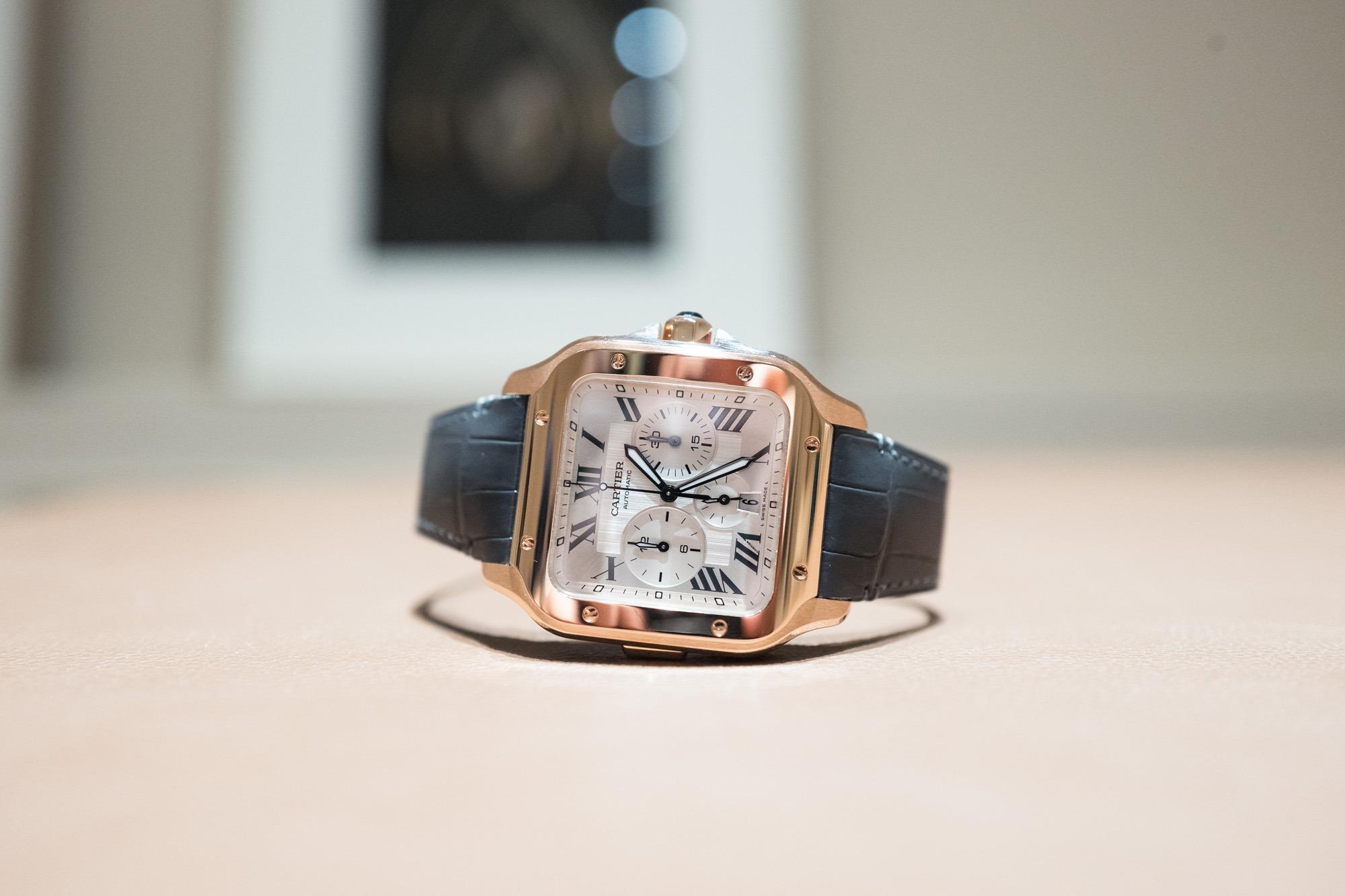 SIHH 2019 - Santos de Cartier chronographe