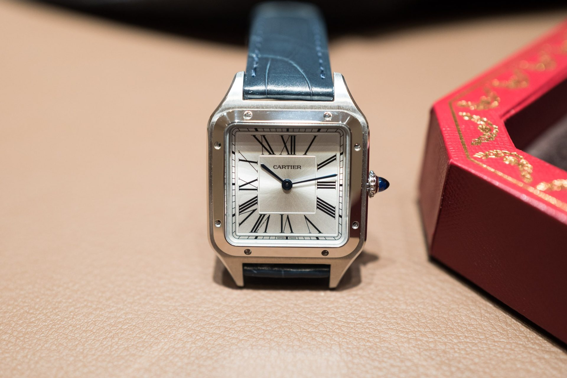 SIHH 2019 - Santos de Cartier quartz - Look