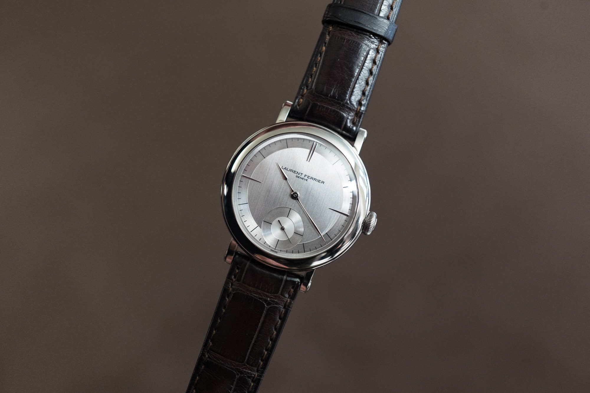 Laurent Ferrier Galet Micro Rotor Montre Ecole