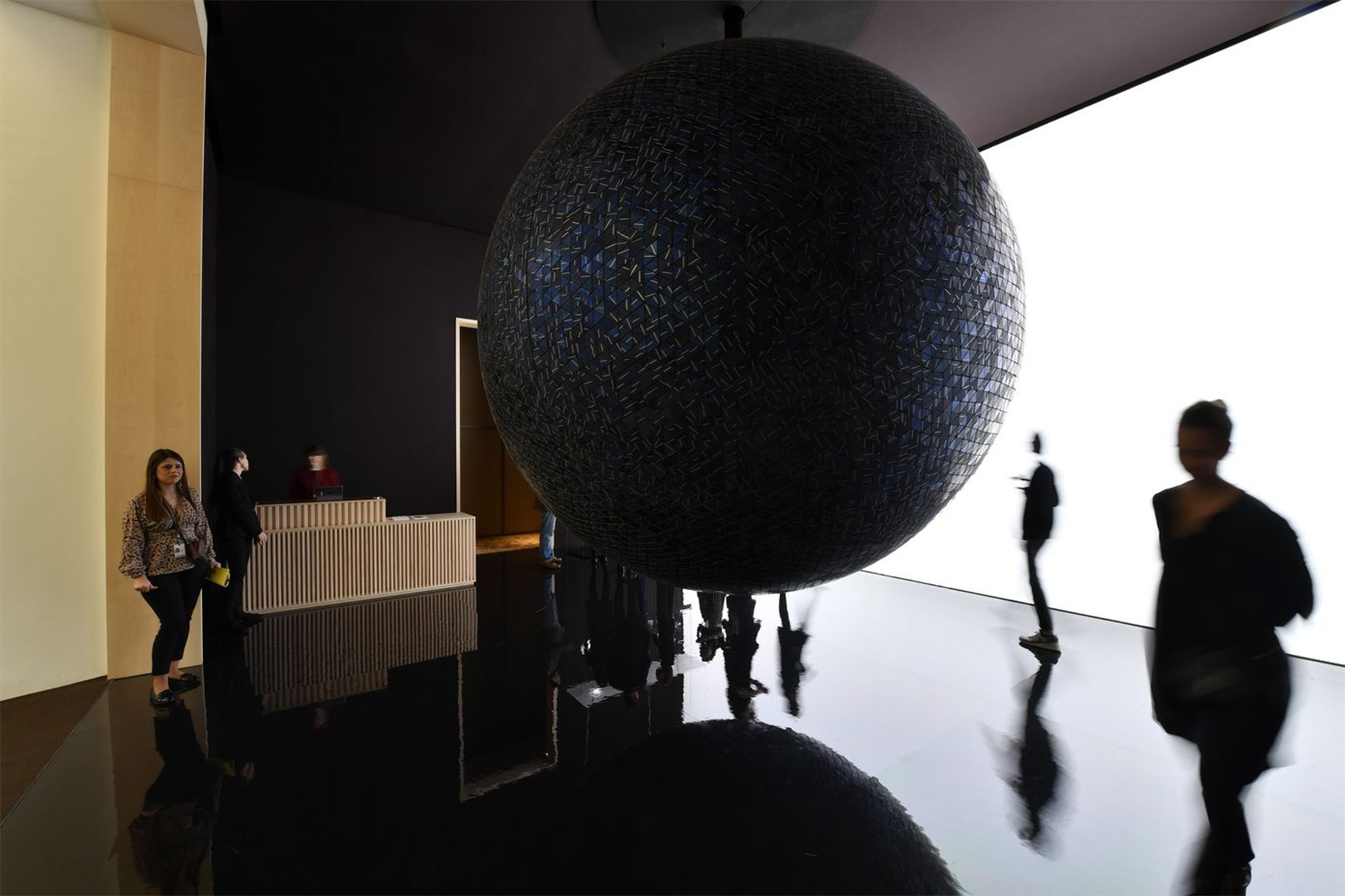 SIHH 2019 - Oeuvre de Hideki Yoshimoto sur le stand Hermès