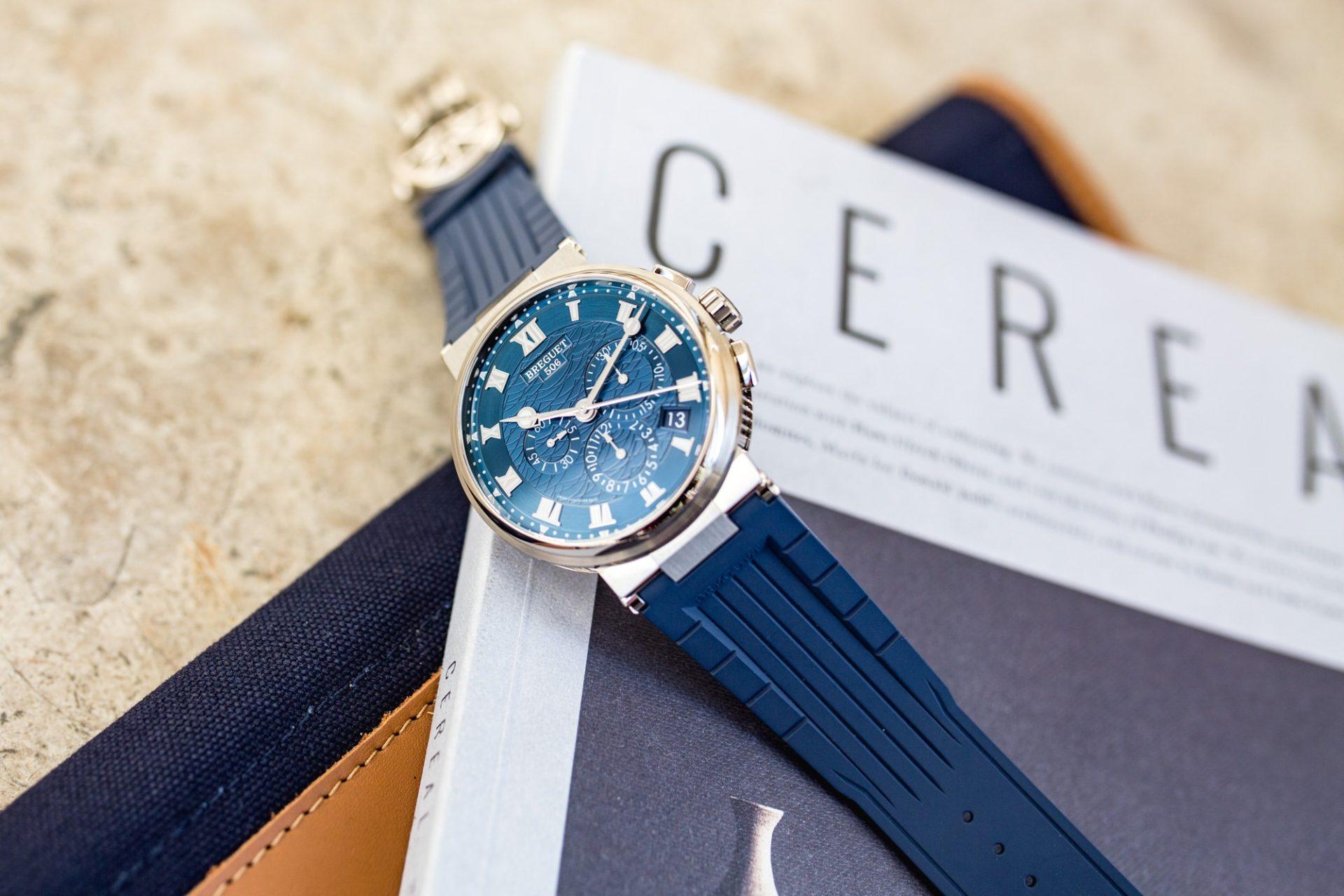 Breguet Marine Chronographe 5527BB