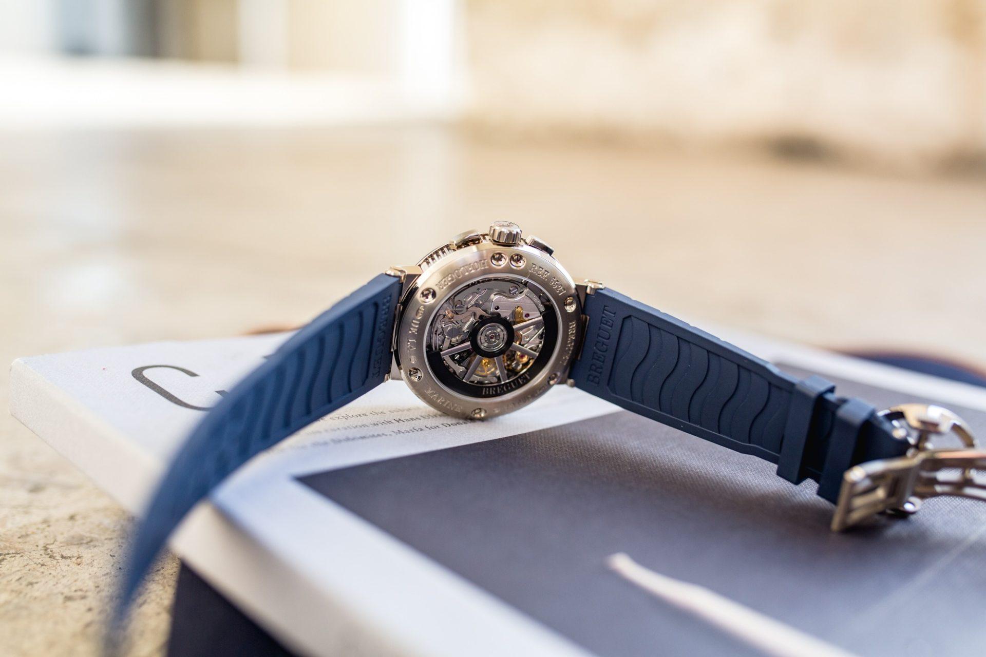 Breguet Marine Chronographe 5527BB - Mouvement