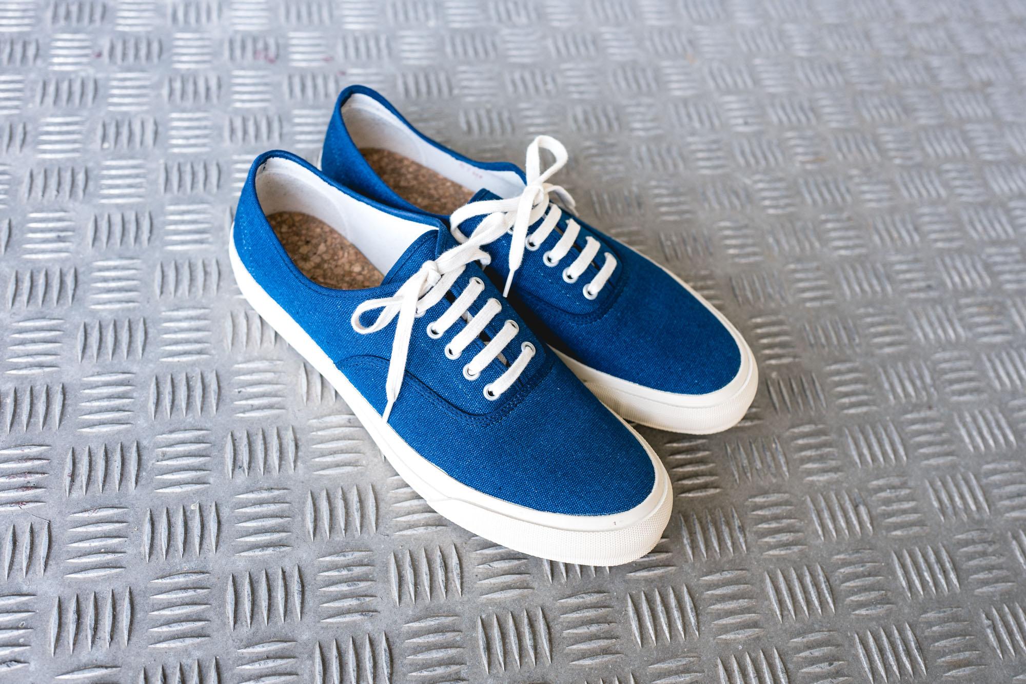 Doek Shoes Oxford Navy